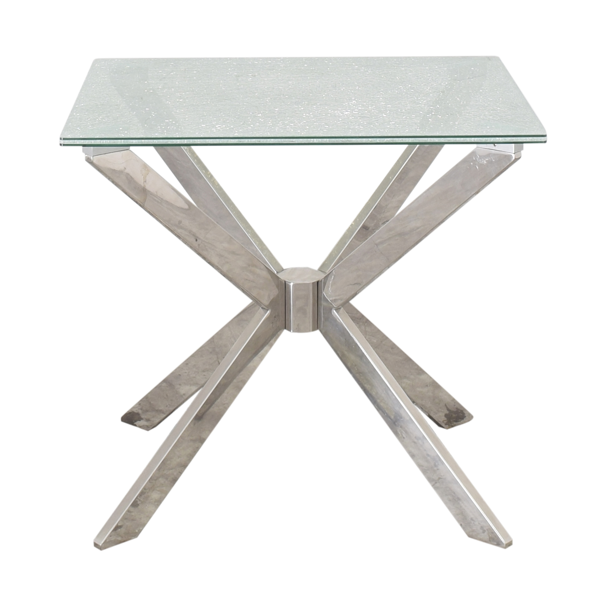 Raymour & Flanigan Raymour & Flanigan Contemporary End Table ct