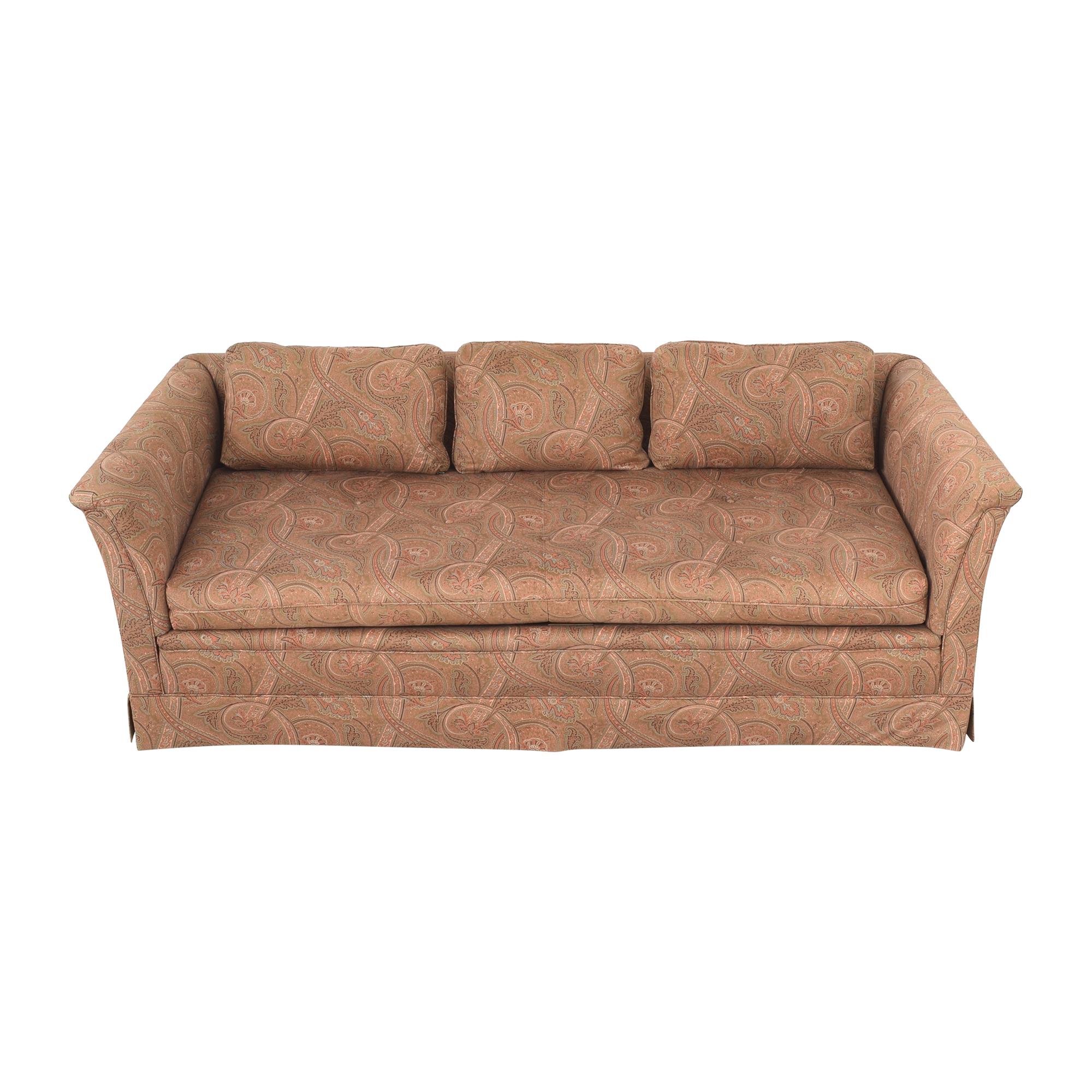 Bloomingdale's Bloomingdale's Paisley Bench Cushion Sofa used