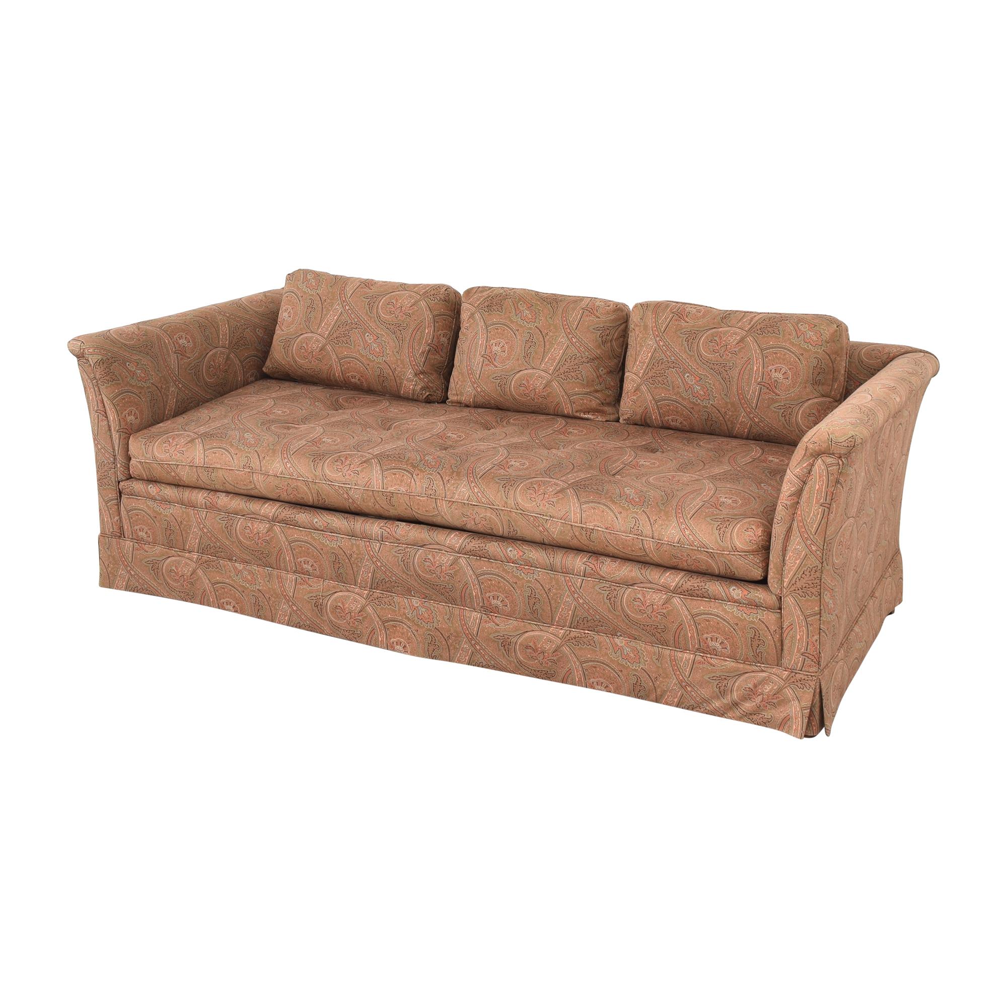shop Bloomingdale's Paisley Bench Cushion Sofa Bloomingdale's Classic Sofas