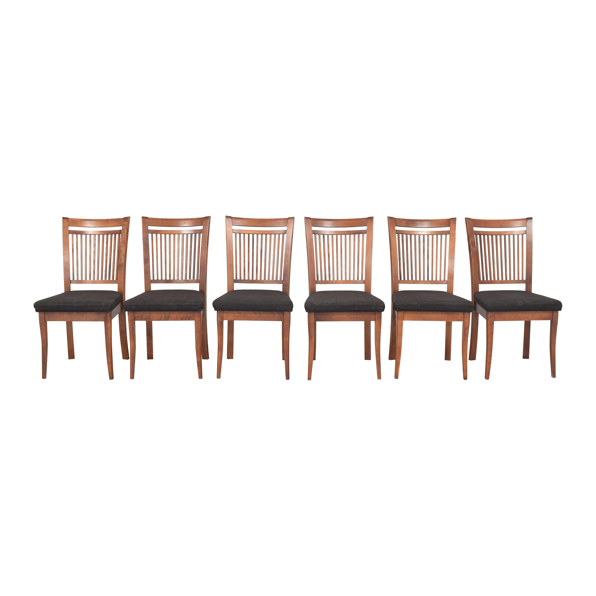 Dinec Dinec Slat Back Dining Chairs ma