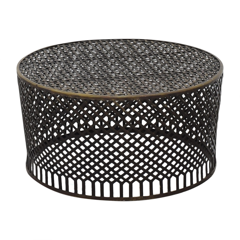 Crate & Barrel Crate & Barrel Braiden Coffee Table on sale