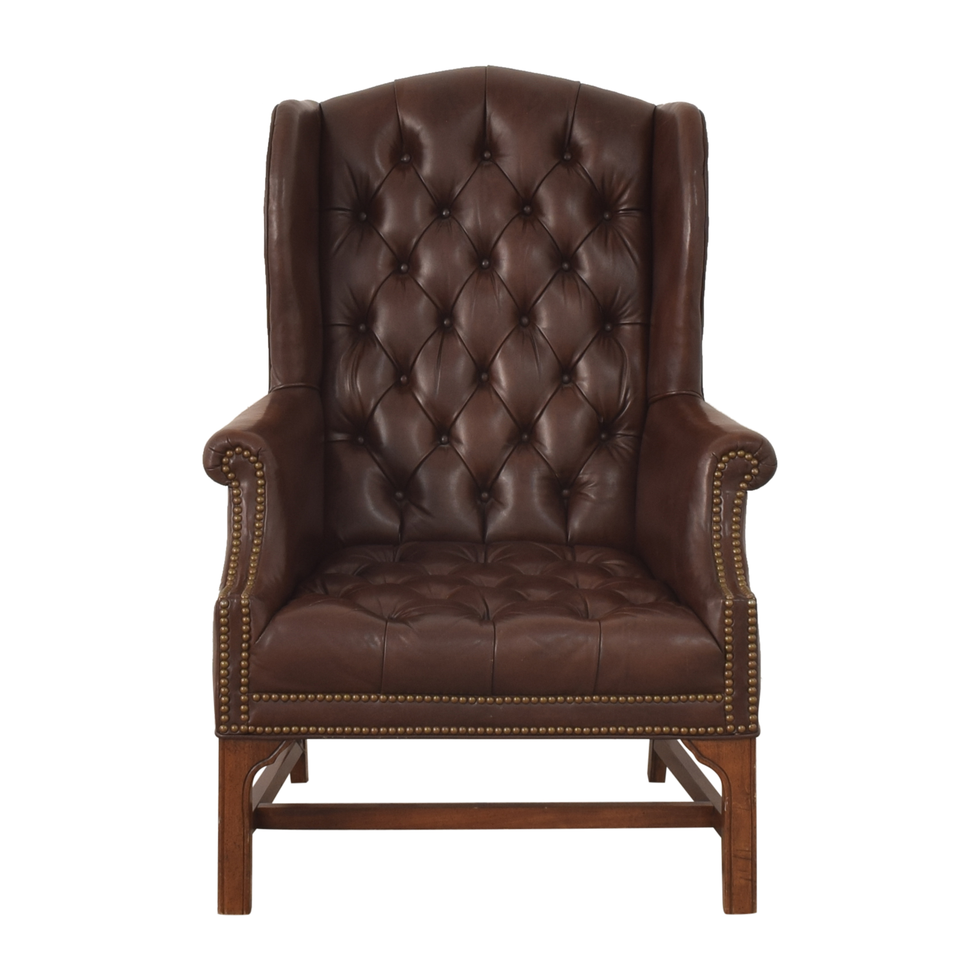 Wingback Chesterfield Accent Chair Accent Chairs