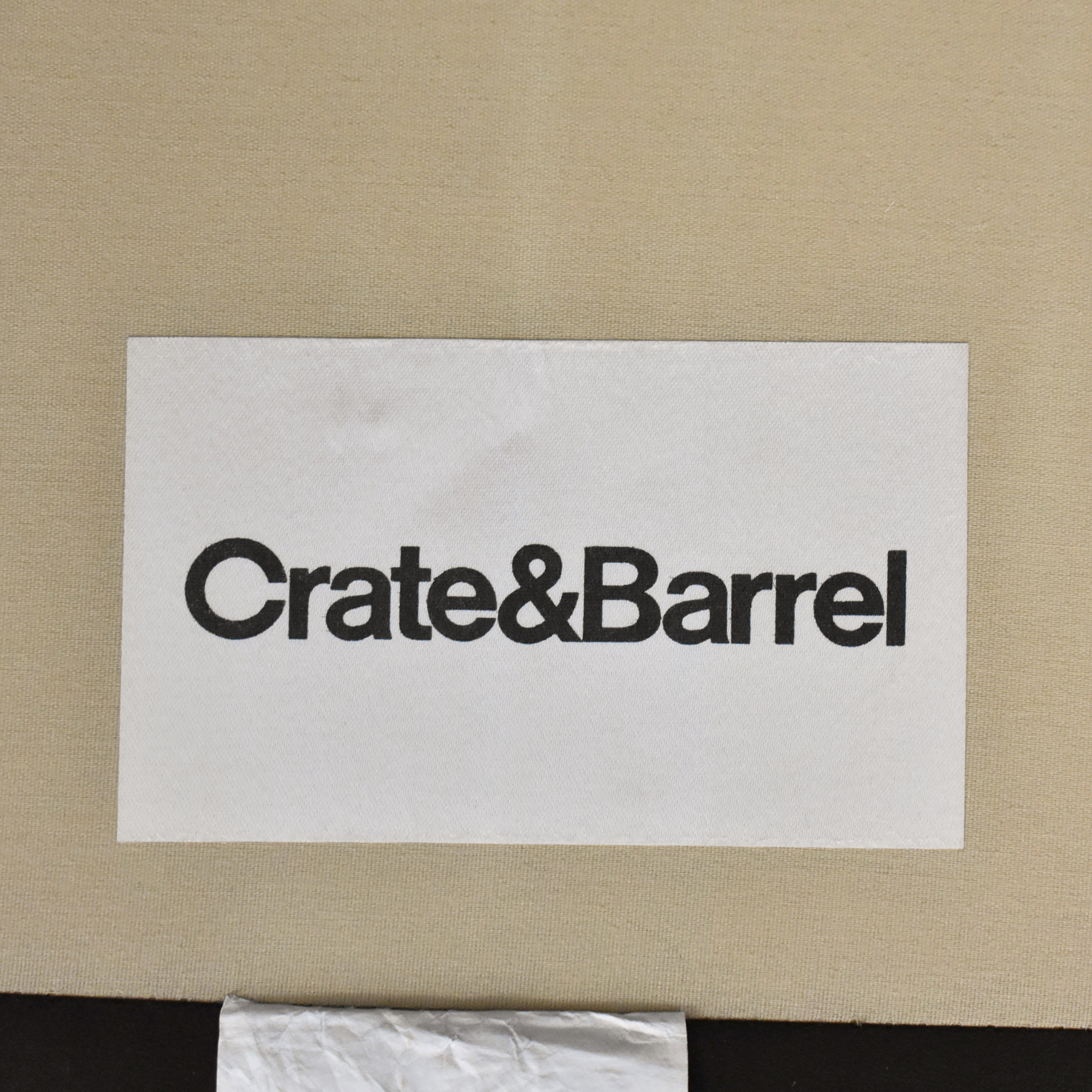 Crate & Barrel Axis II Chair and a Half / Accent Chairs