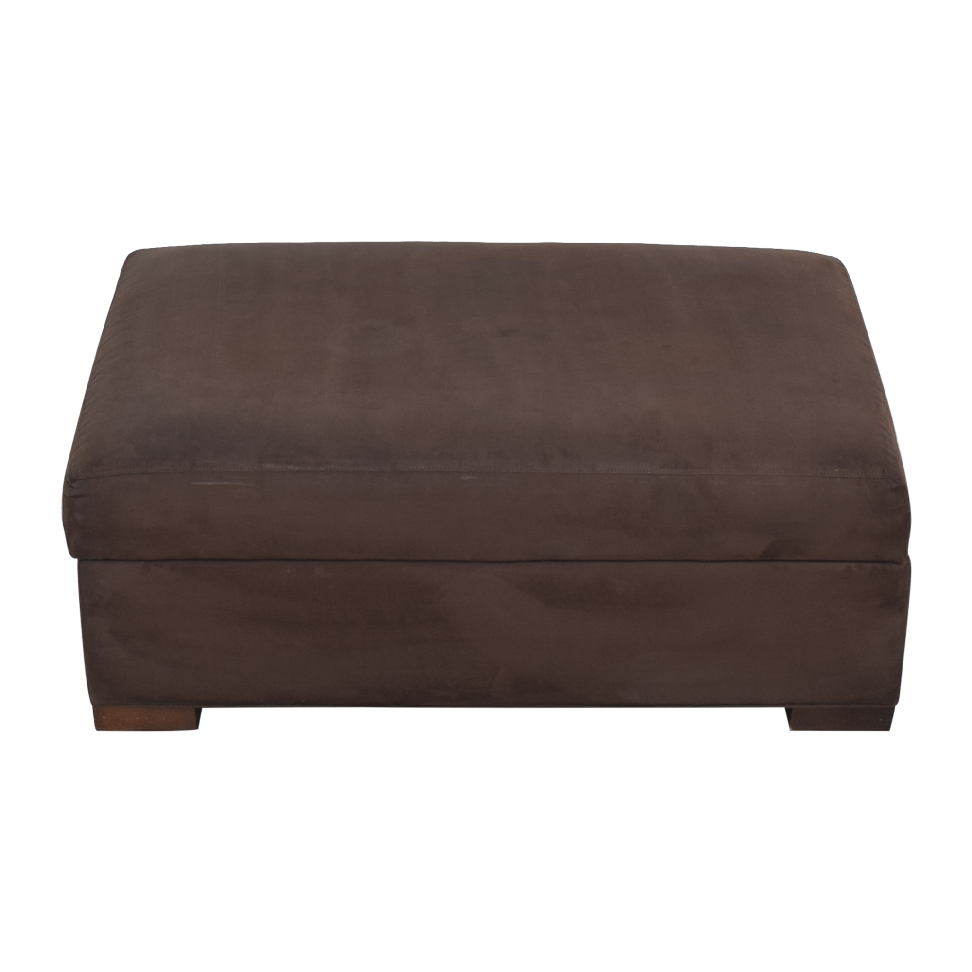 Crate & Barrel Axis II Ottoman and a Half / Ottomans