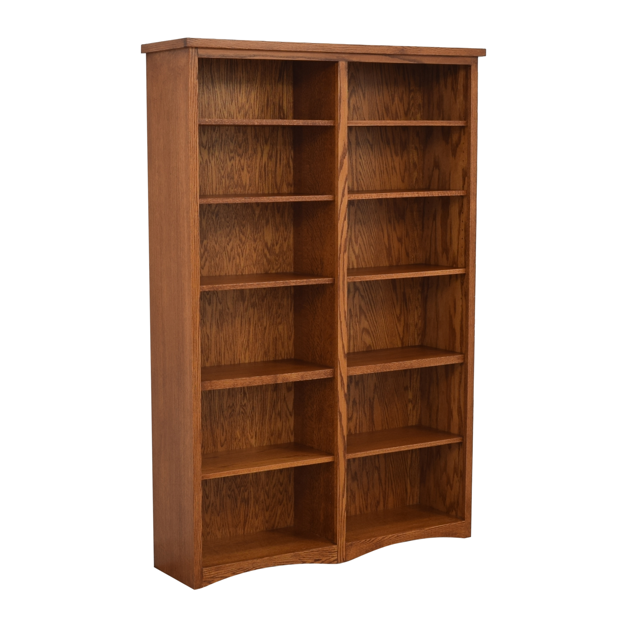 Oakcraft Oakcraft Mission Double Bookcase for sale