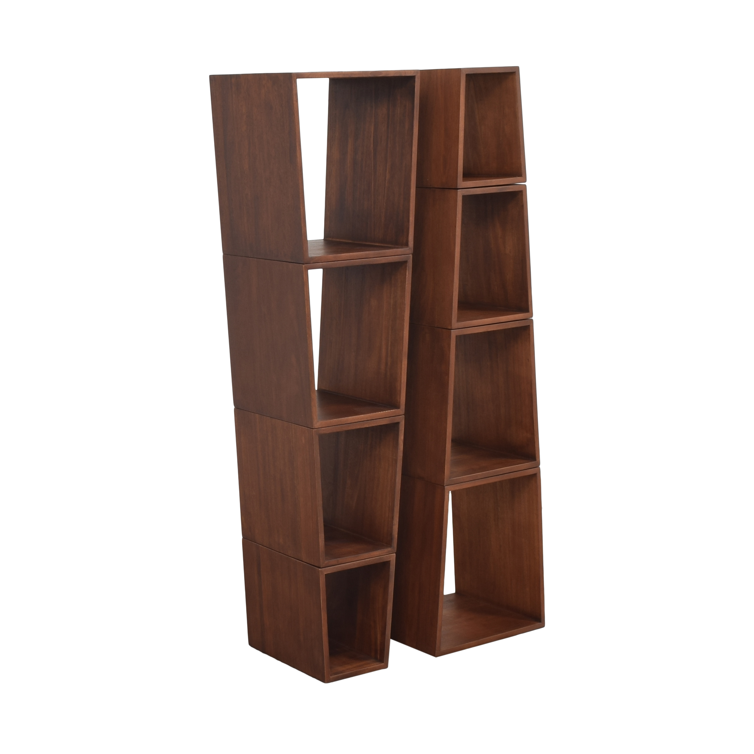 The Company Store Pyramid Shelf System / Bookcases & Shelving