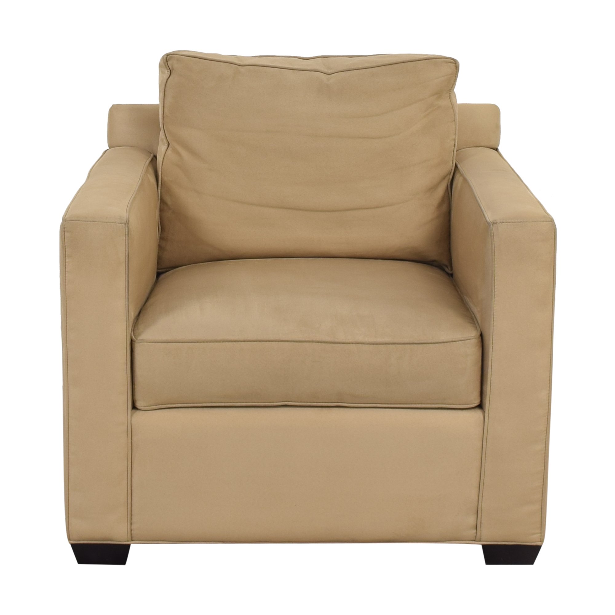 Crate & Barrel Crate & Barrel Davis Beige Accent Chair coupon
