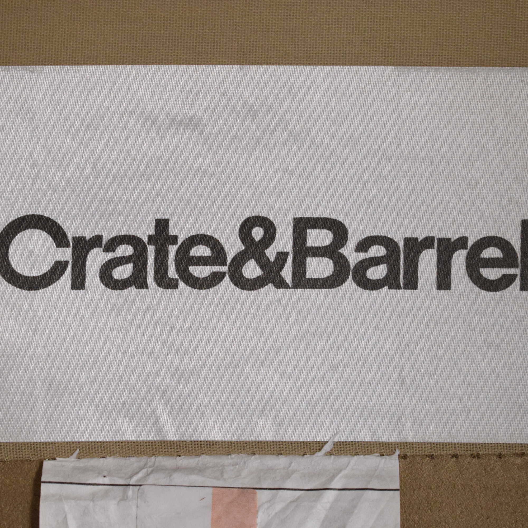 Crate & Barrel Crate & Barrel Davis Beige Accent Chair beige