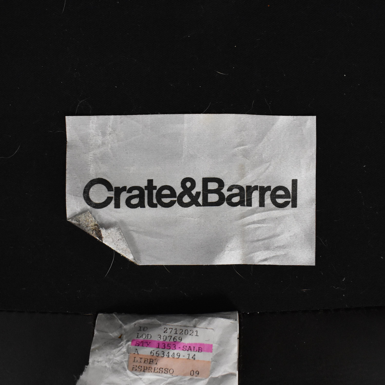 Crate & Barrel Crate & Barrel Axis II Two Seat Sofa discount