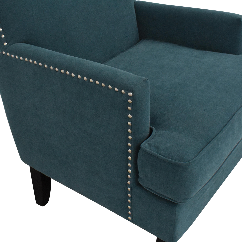 Macy's Macys Nailhead Accent Chair for sale