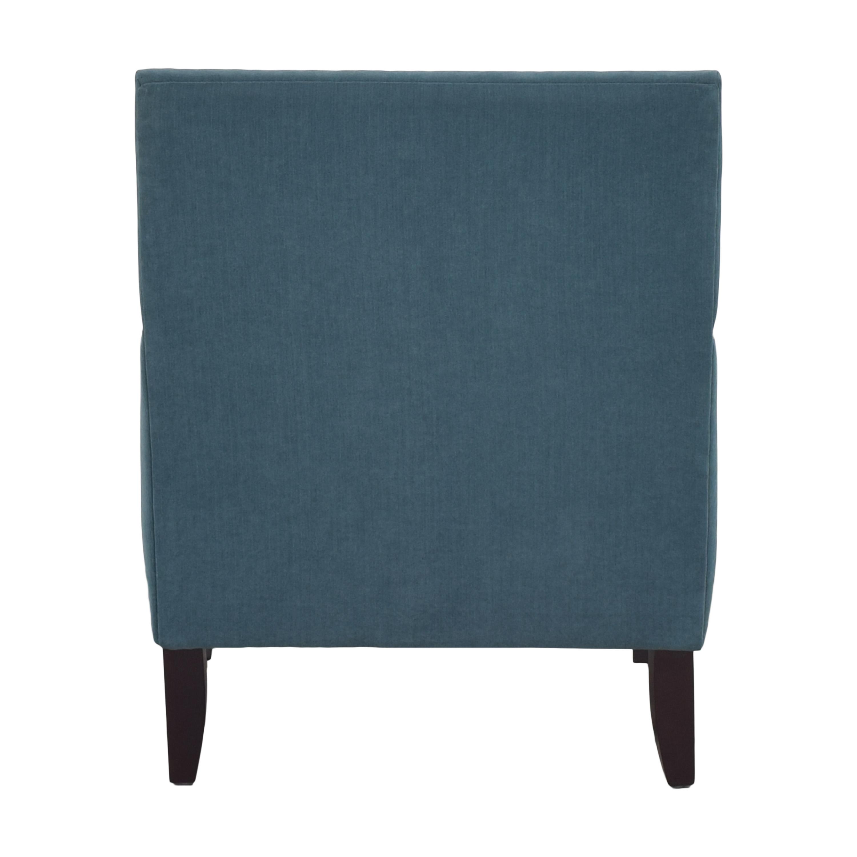 Macy's Macys Nailhead Accent Chair teal