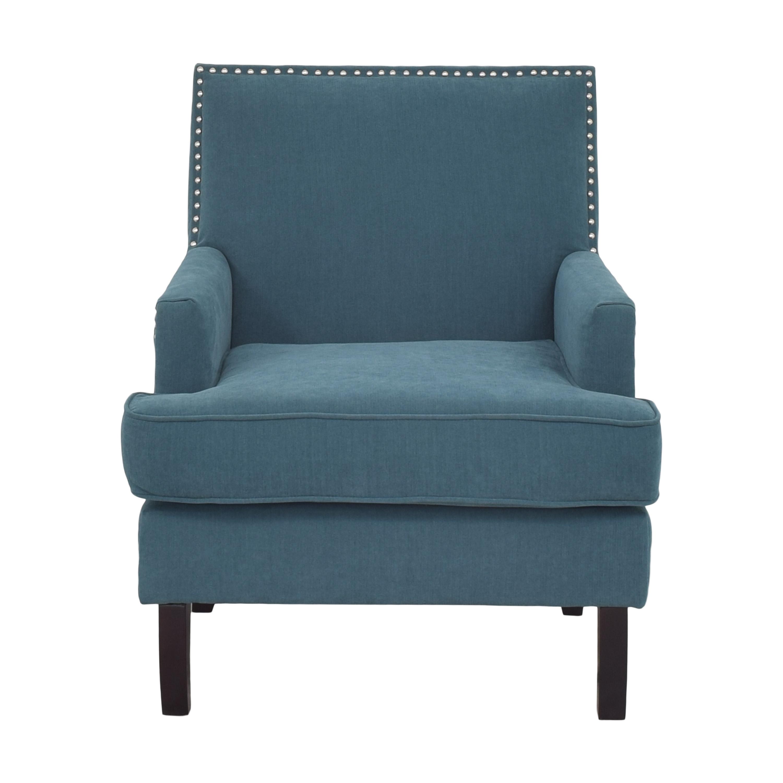 Macy's Macys Nailhead Accent Chair ct