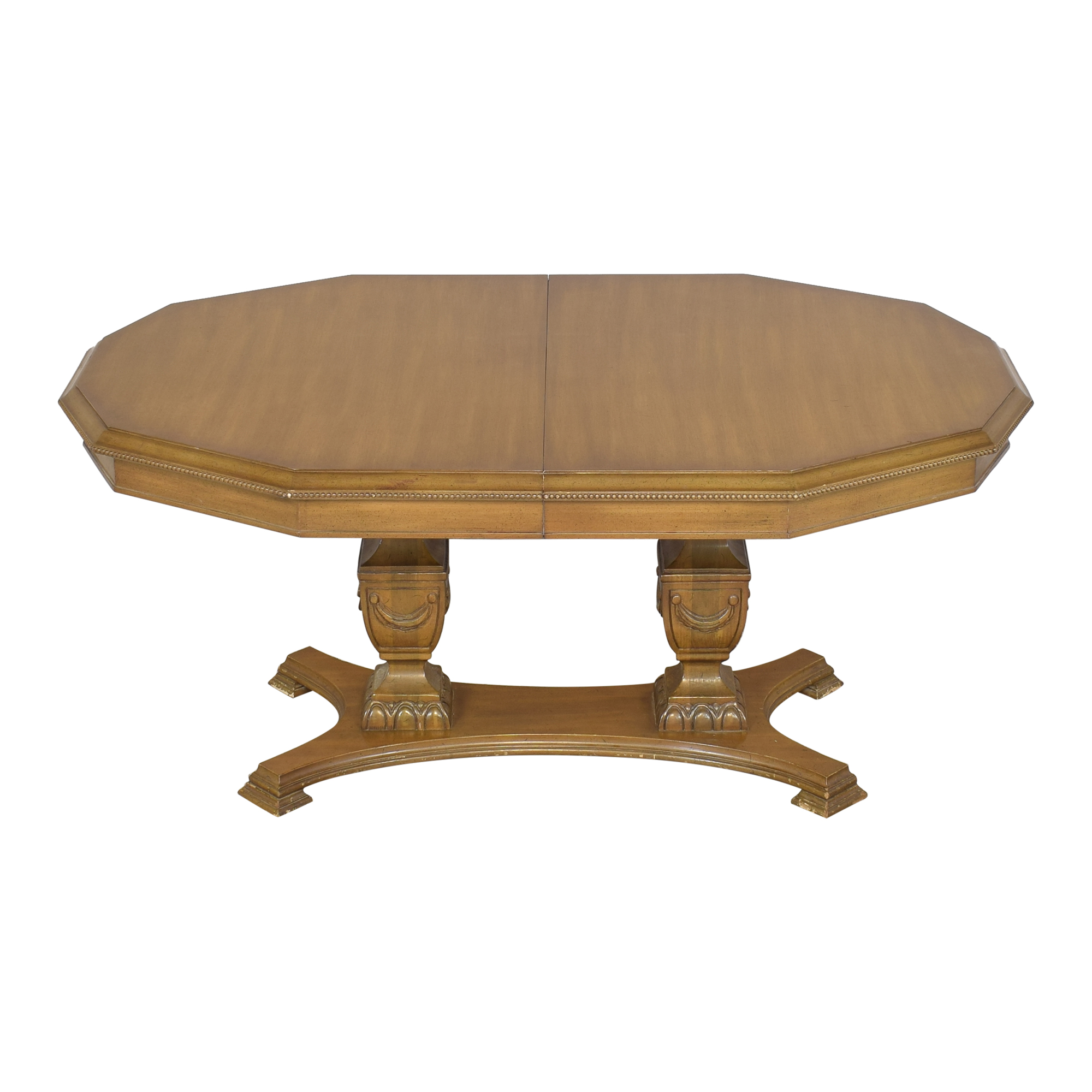 Double Pedestal Dining Table sale