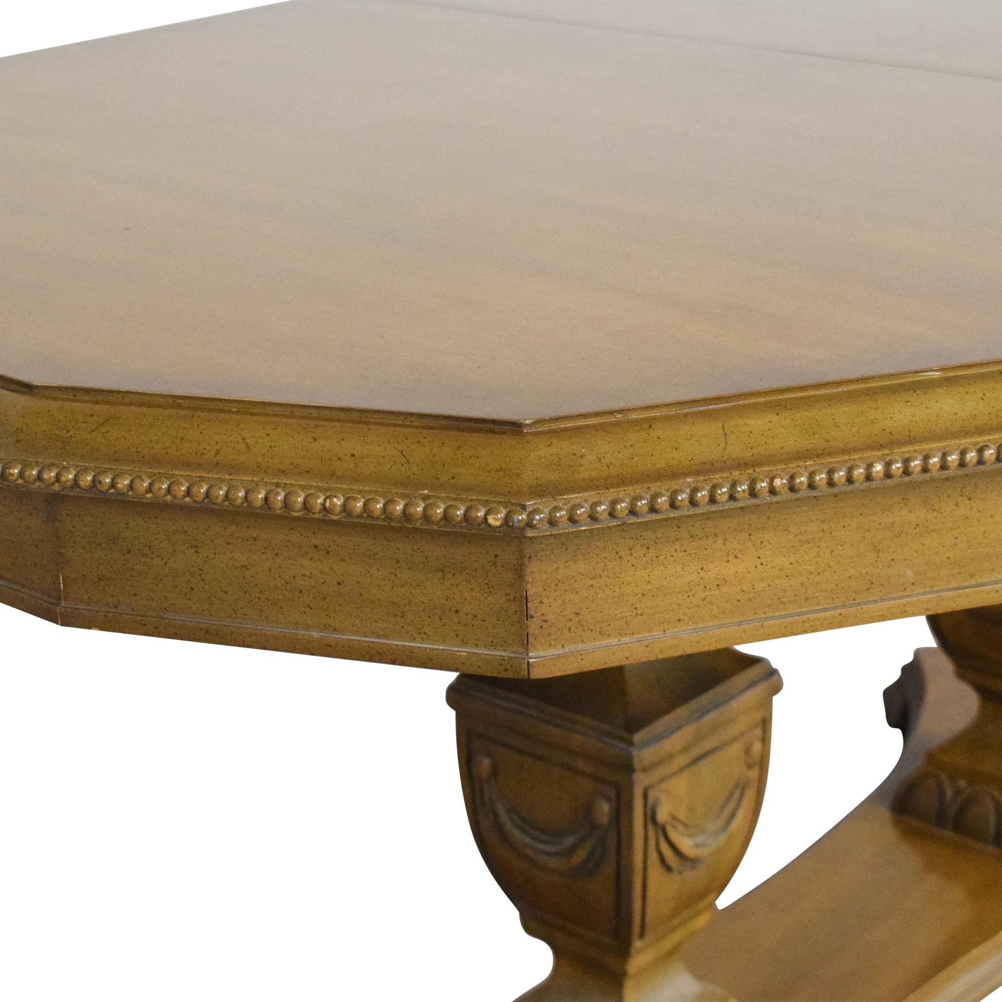 shop  Double Pedestal Dining Table online