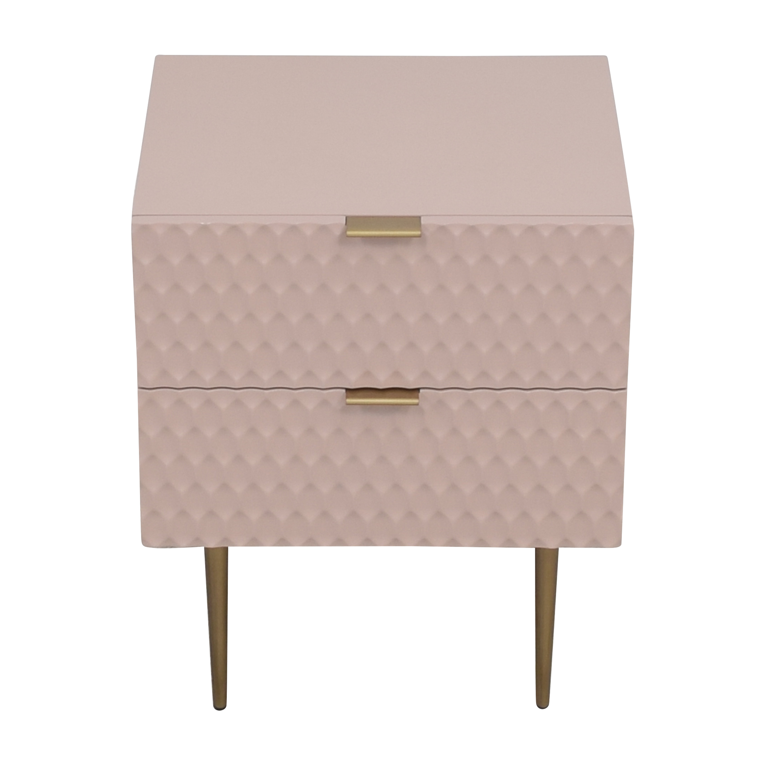 West Elm West Elm Audrey Two Drawer Nightstand ma
