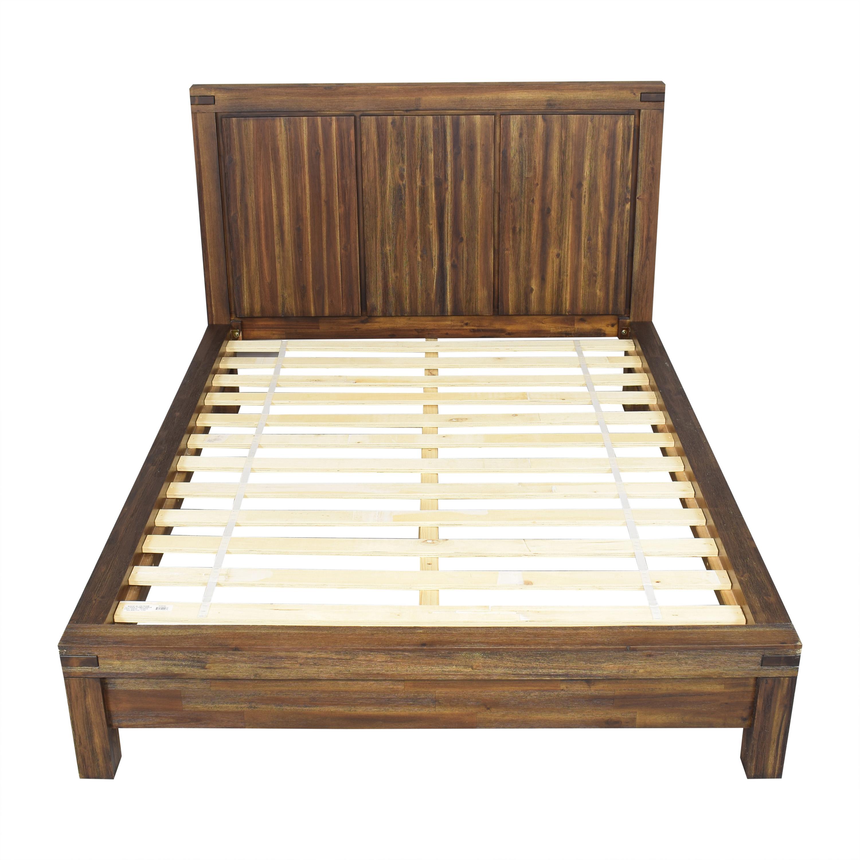 Macy's Macy's Avondale Queen Platform Bed used