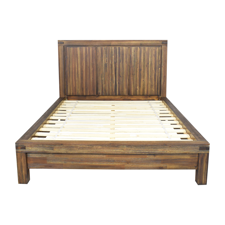 shop Macy's Avondale Queen Platform Bed Macy's Bed Frames