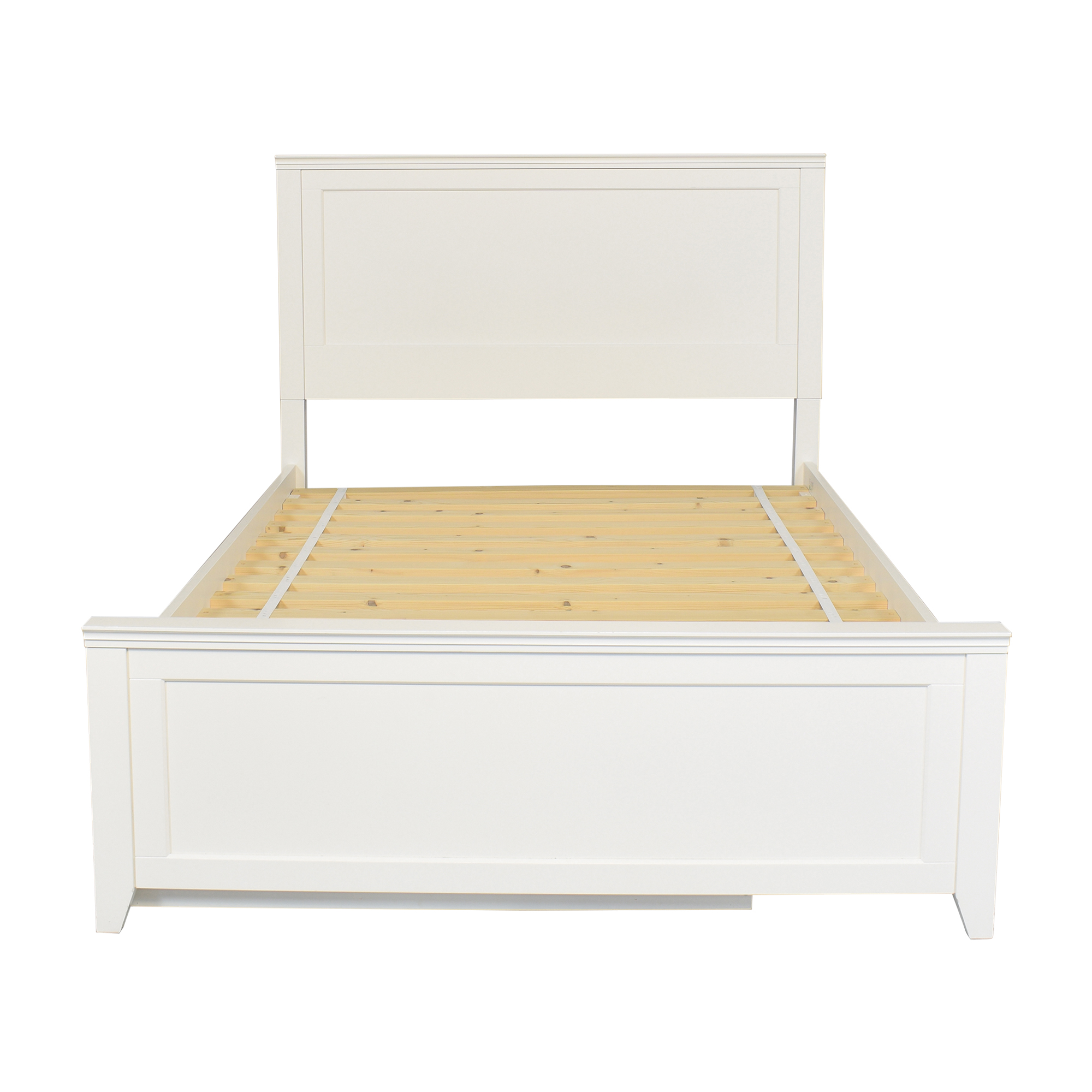 shop Pottery Barn Teen Hampton Full Bed with Trundle Pottery Barn Teen Beds