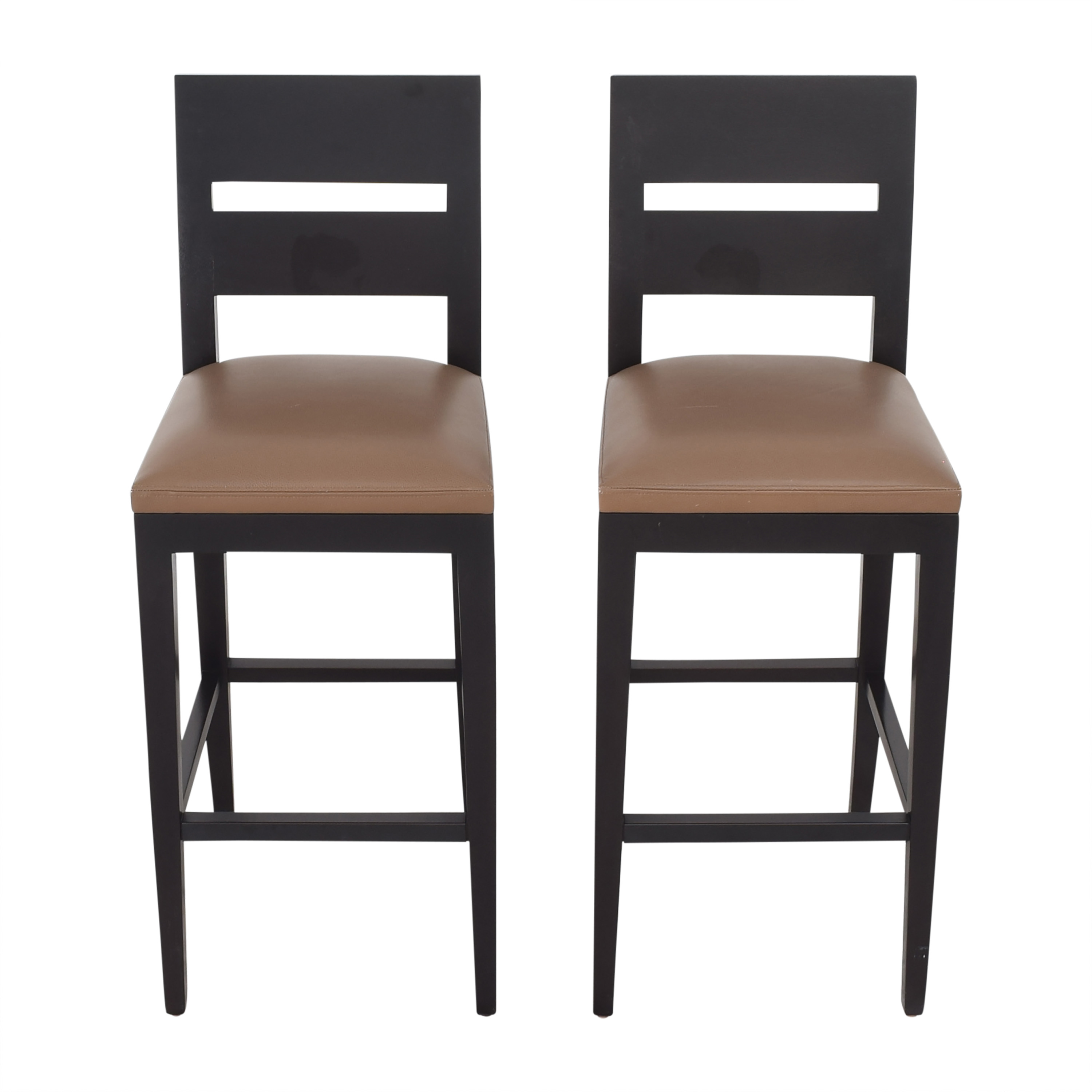 Holly Hunt Holly Hunt Archipel Bar Stools by Christian Liaigre nyc