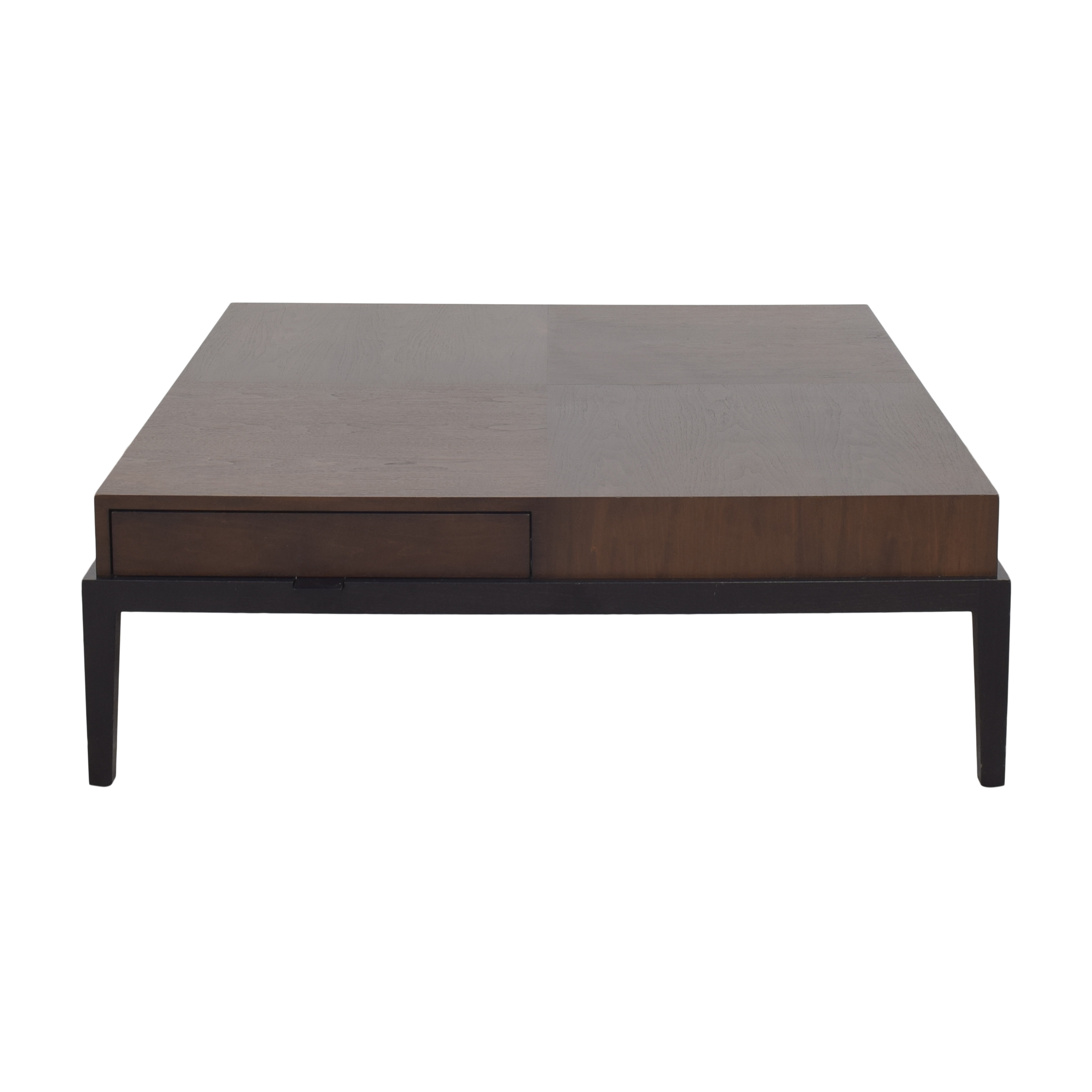 Holly Hunt Holly Hunt Monsieur Square Coffee Table by Christian Liaigre dimensions