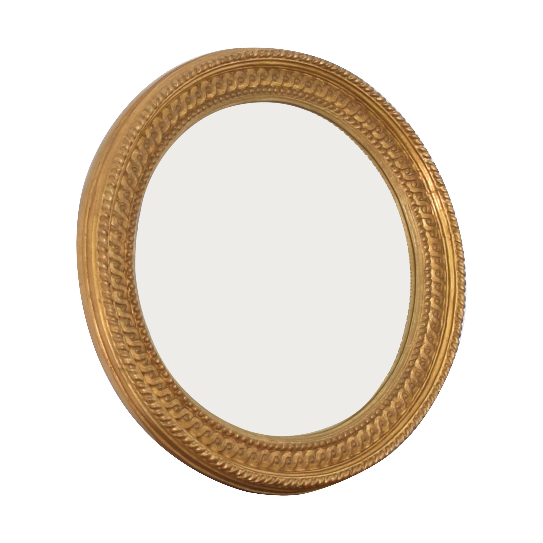 Carvers' Guild Carvers' Guild Tondo Convex Mirror ct
