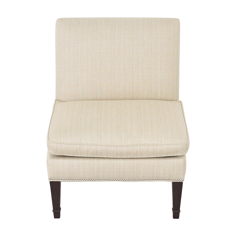 shop Ethan Allen Ethan Allen Nailhead Trim Slipper Chair online