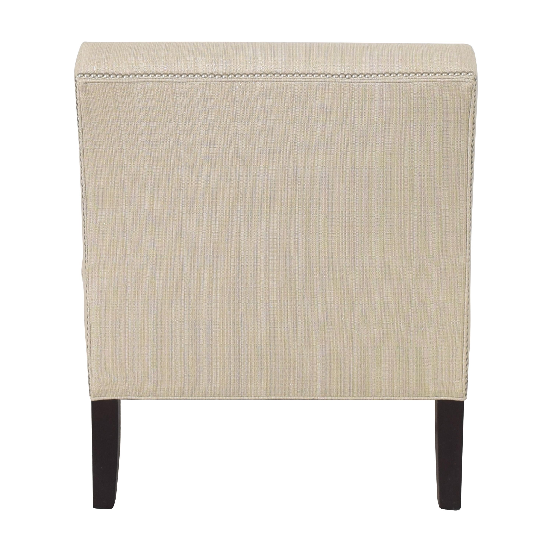 shop Ethan Allen Nailhead Trim Slipper Chair Ethan Allen Chairs