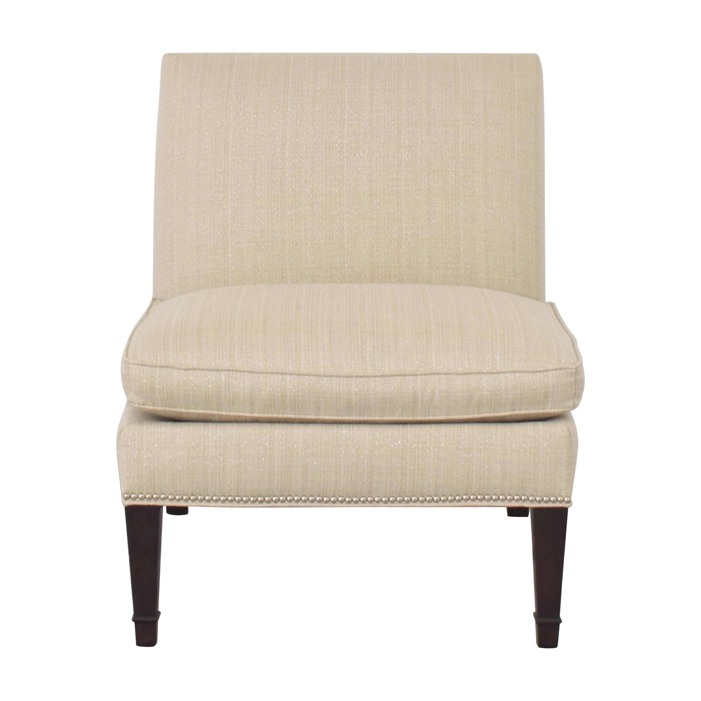 Ethan Allen Ethan Allen Nailhead Trim Slipper Chair discount