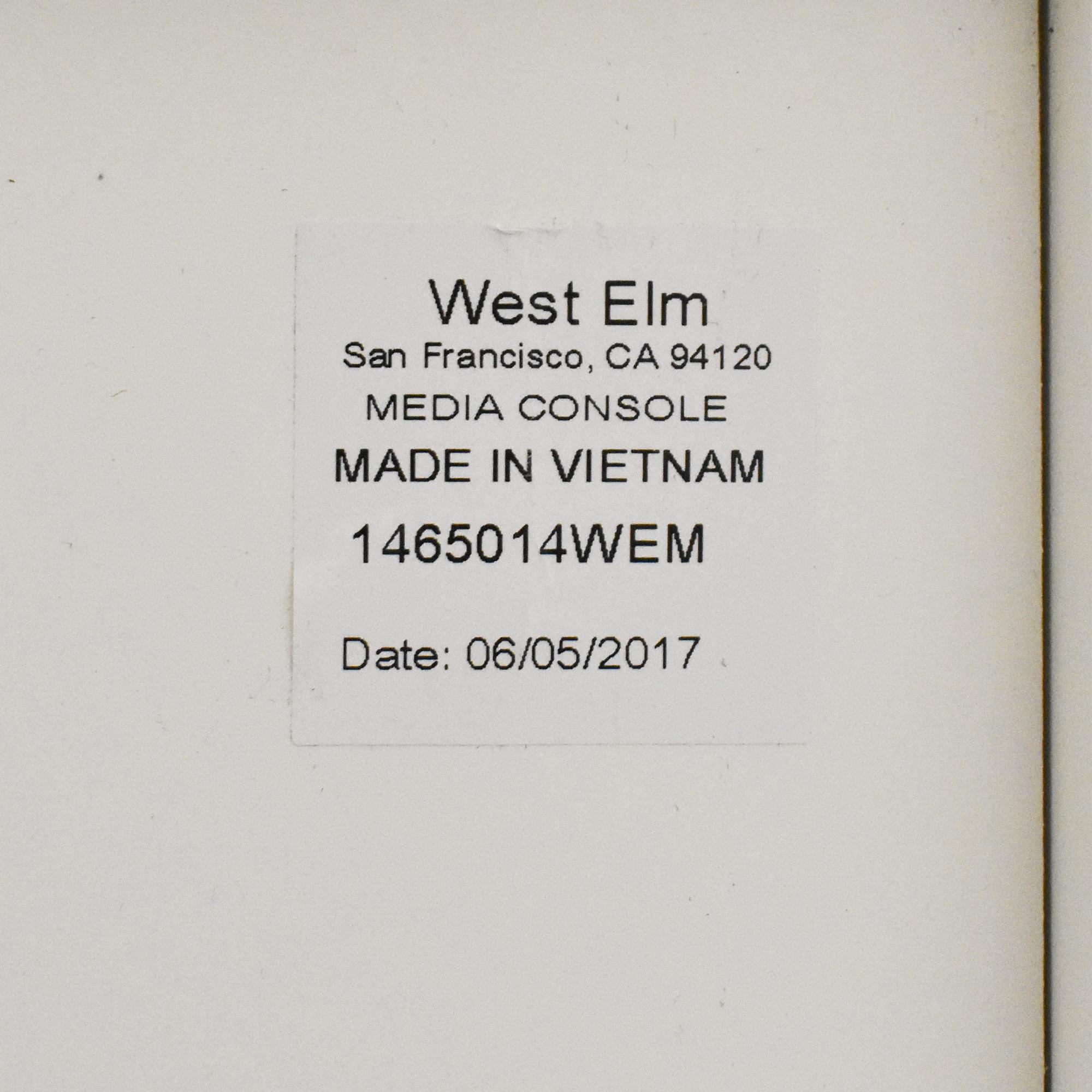 shop West Elm West Elm Reclaimed Media Console online