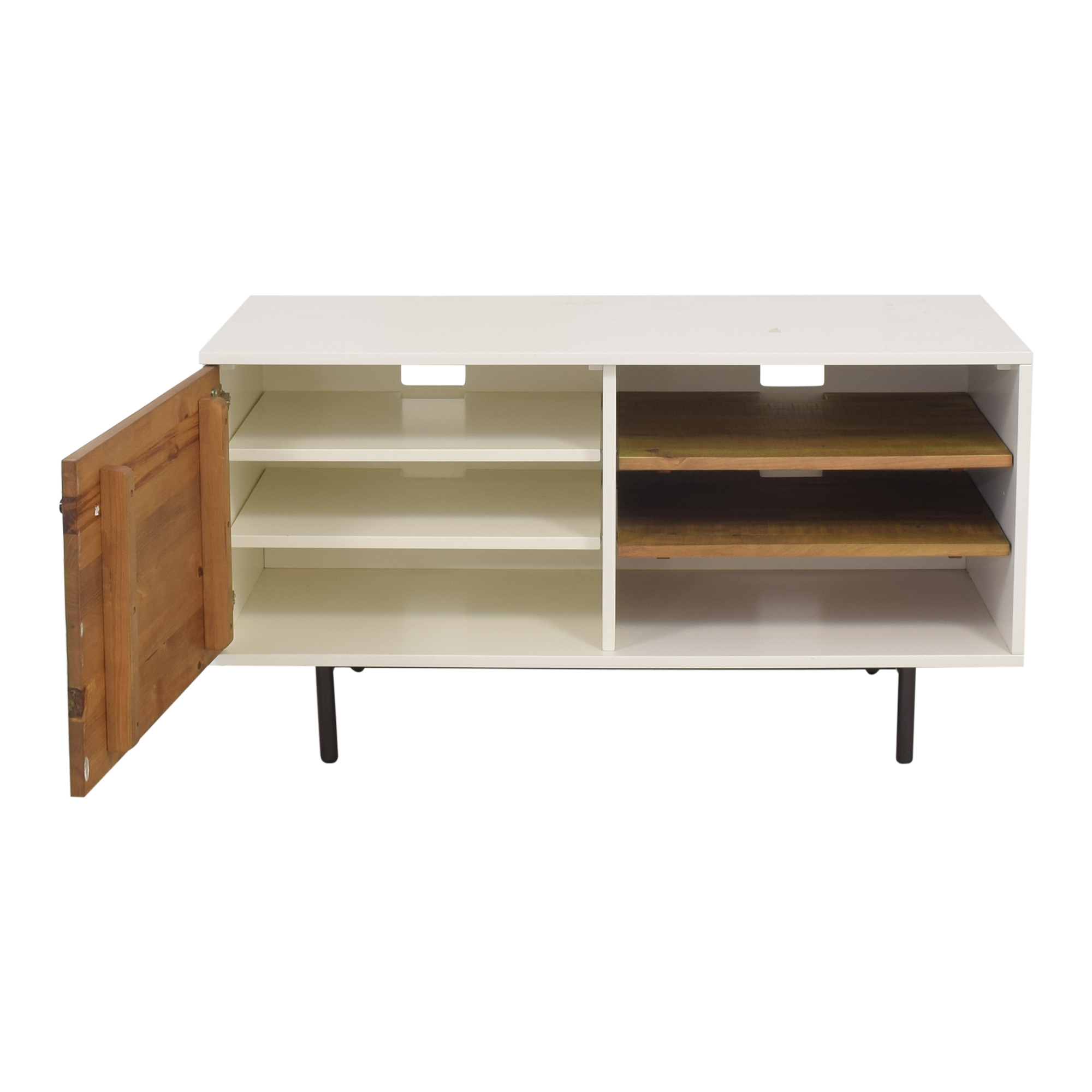 West Elm West Elm Reclaimed Media Console dimensions