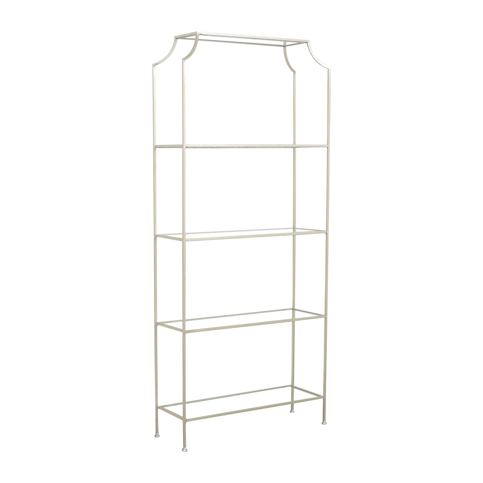 shop Worlds Away Chloe Etagere Worlds Away Bookcases & Shelving