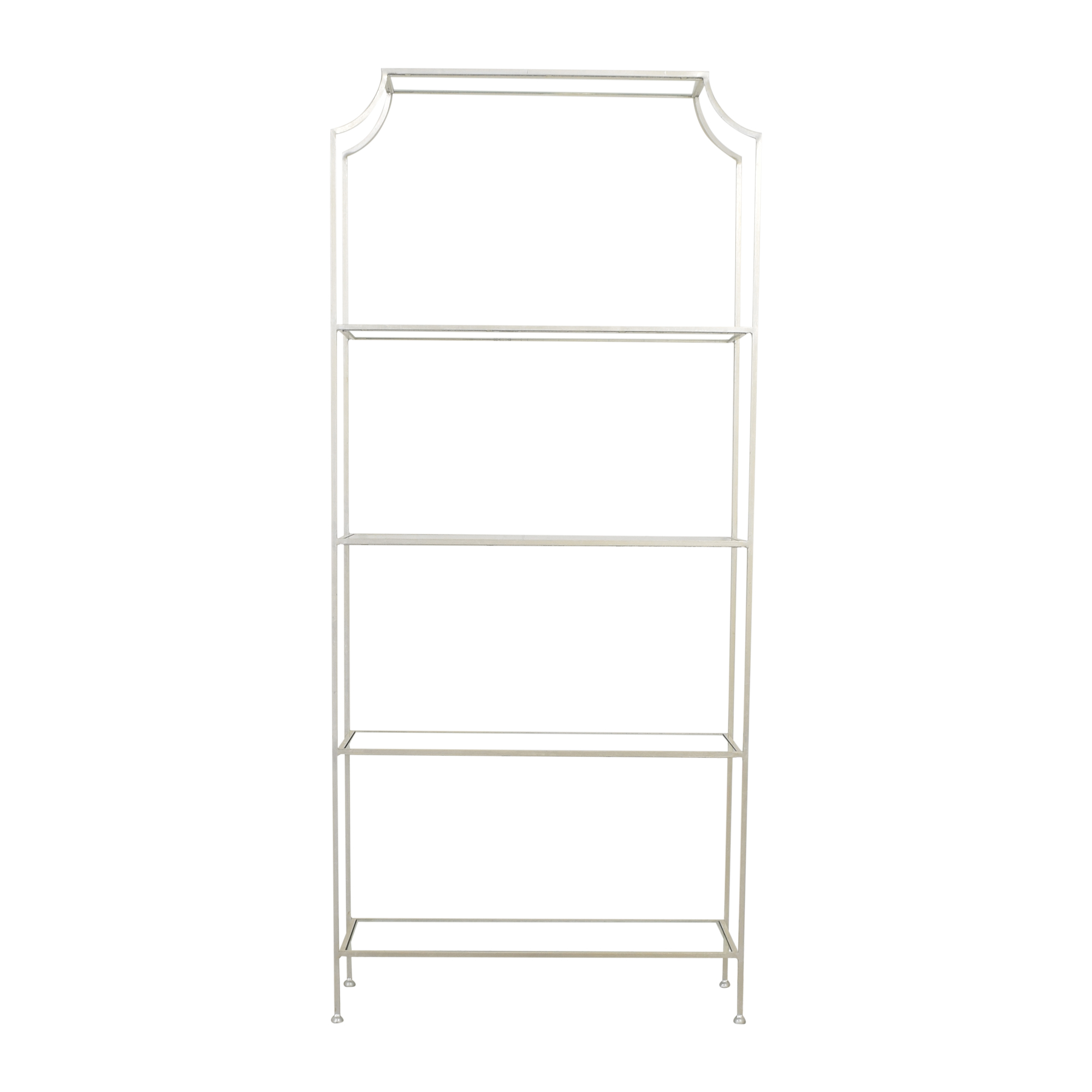 shop Worlds Away Chloe Etagere Worlds Away Storage
