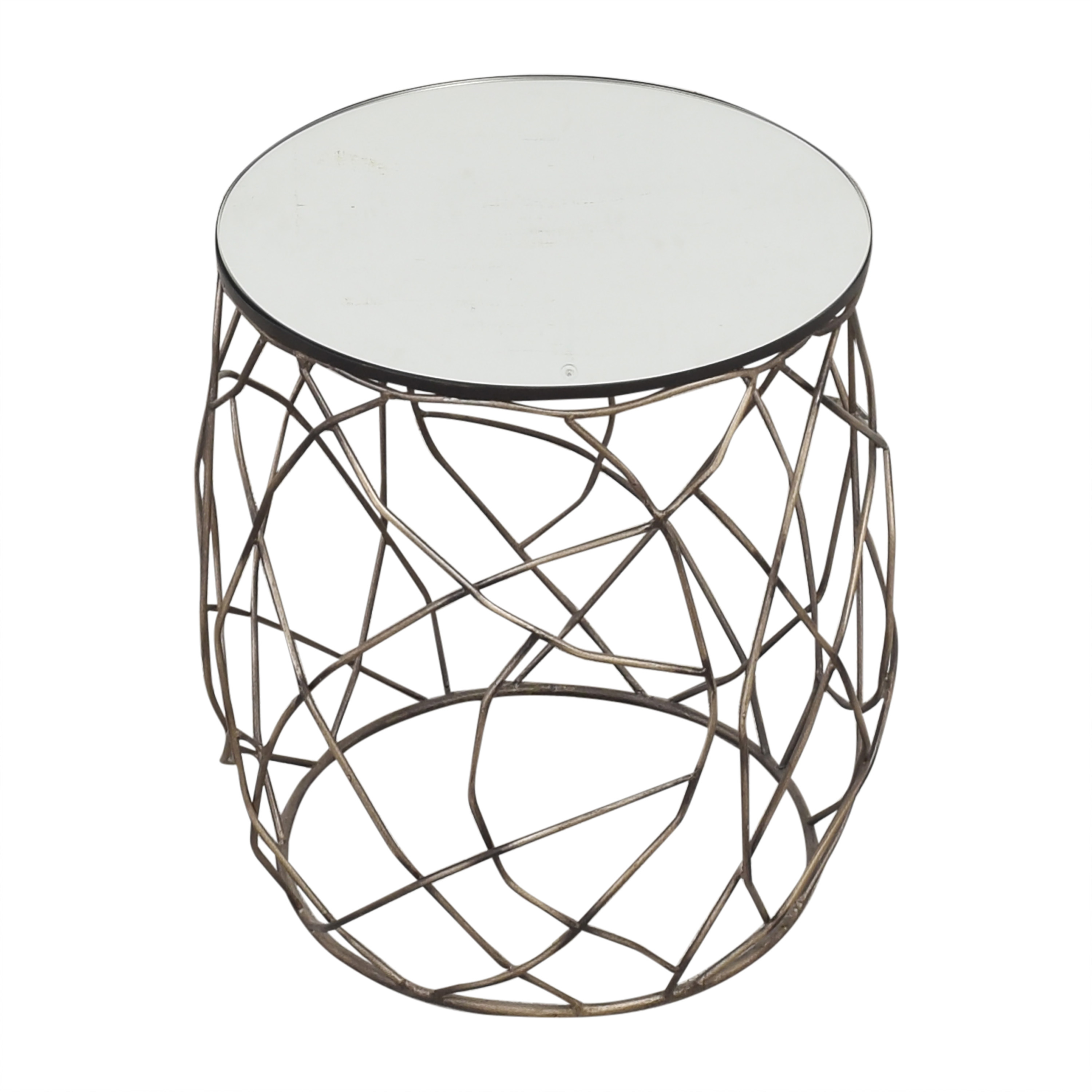 Horchow Horchow Rumi Openwork Side Table dimensions
