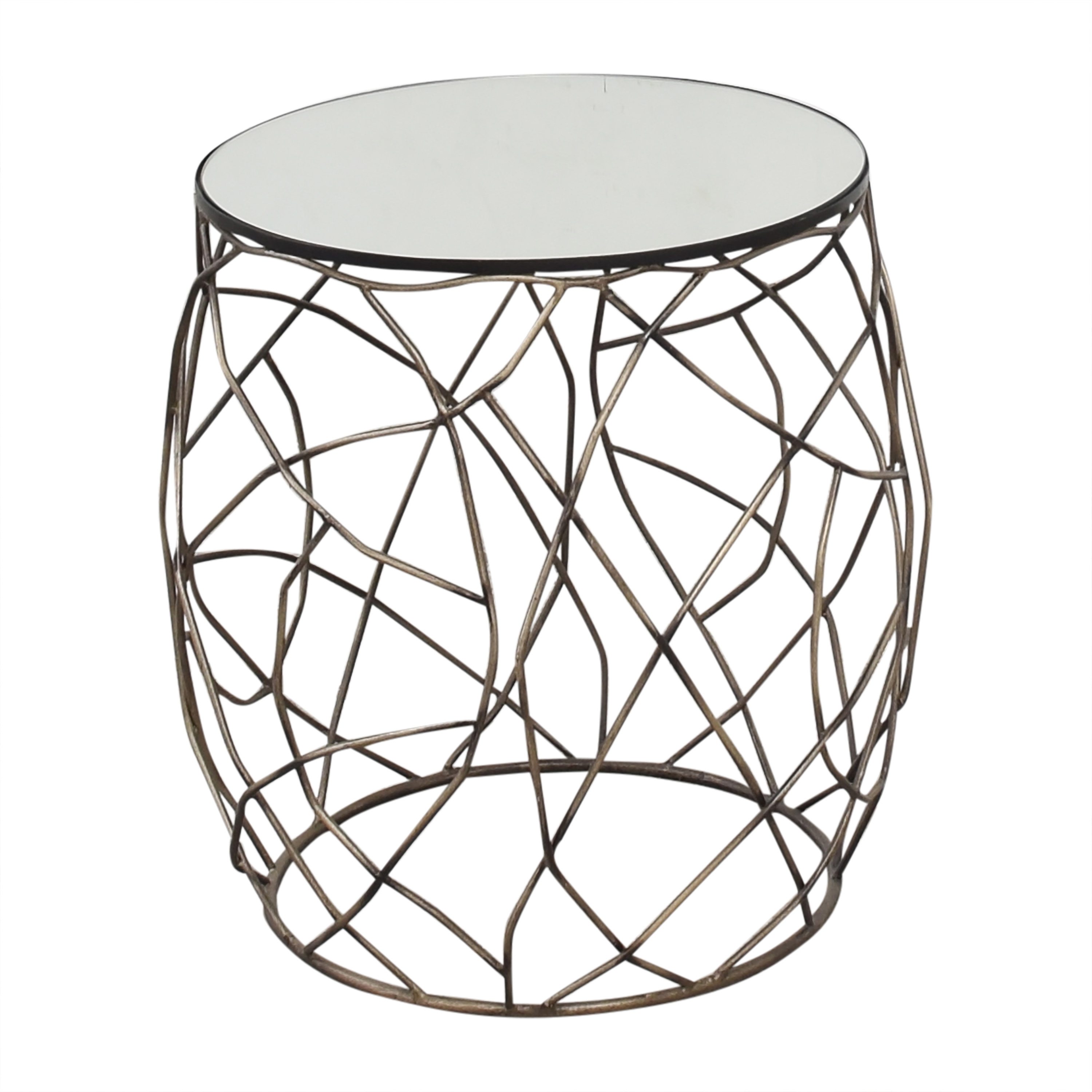 Horchow Horchow Rumi Openwork Side Table discount