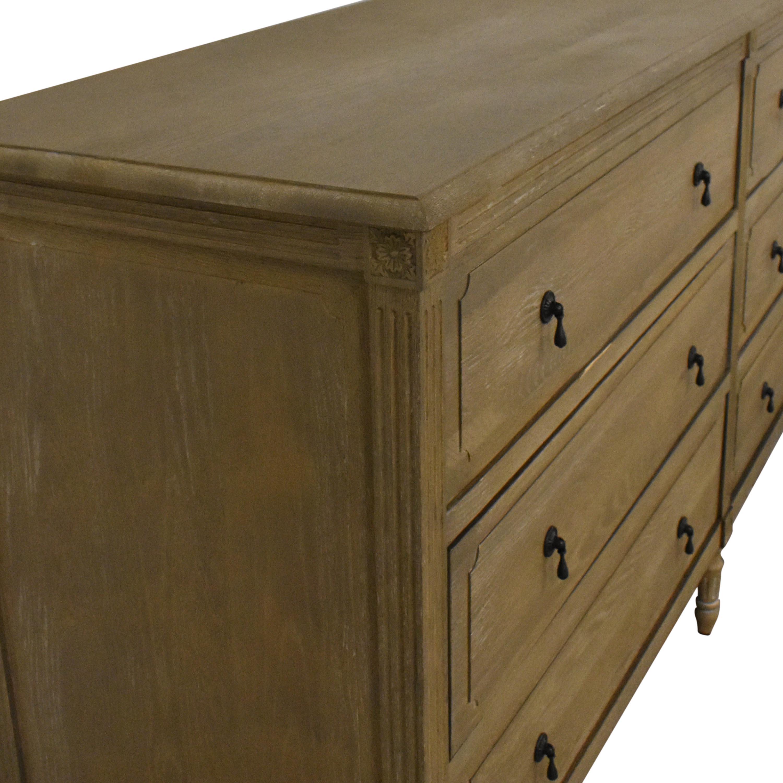 Restoration Hardware Louis XVI Six Drawer Dresser Restoration Hardware