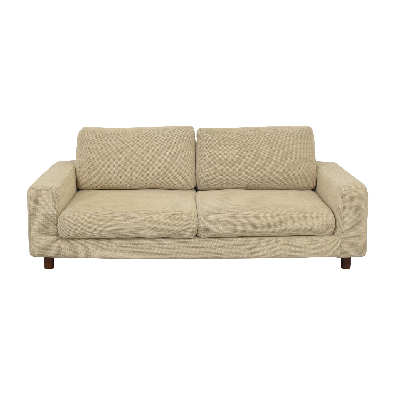 Muji Muji Two Cushion Modern Sofa pa