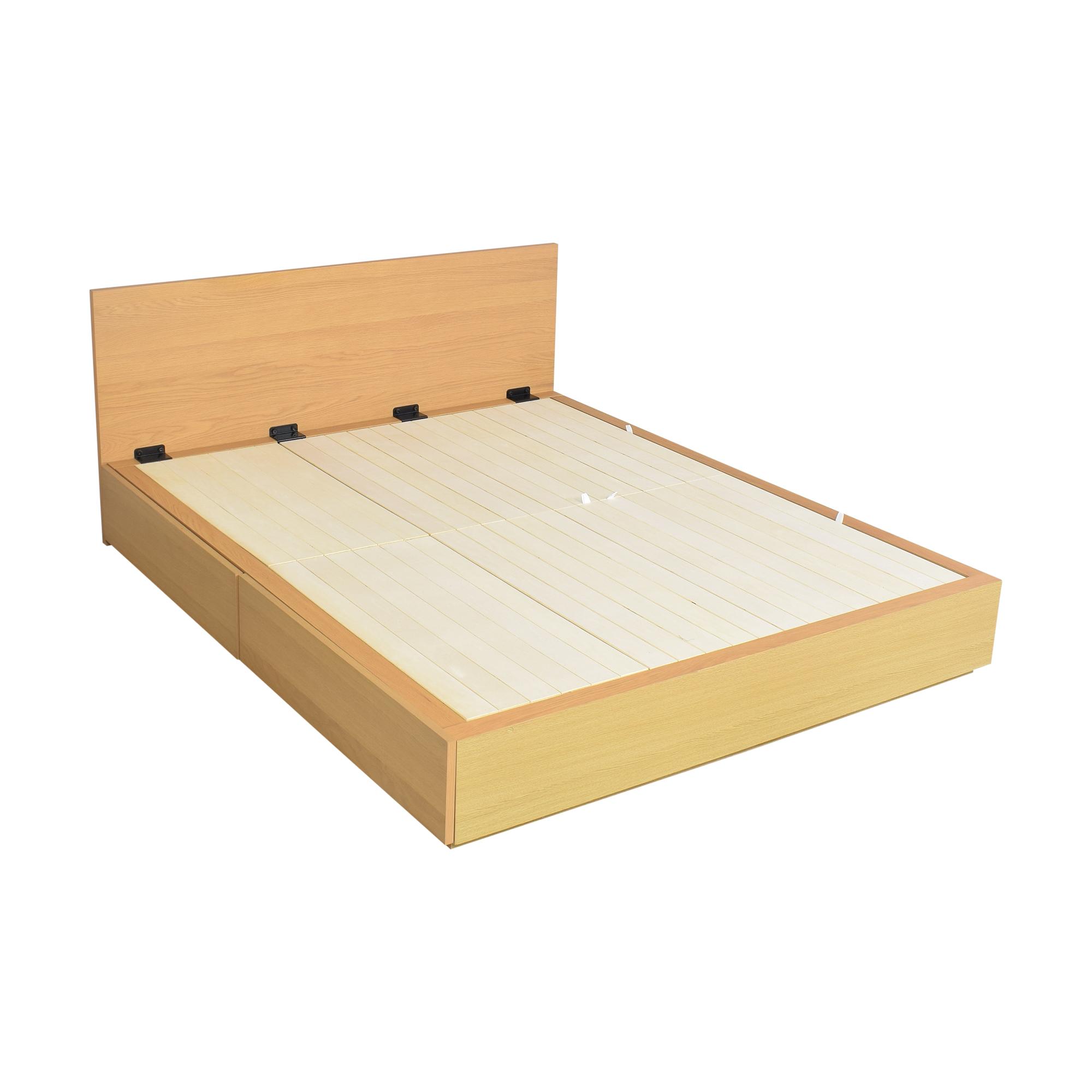 Muji Queen Storage Bed / Beds