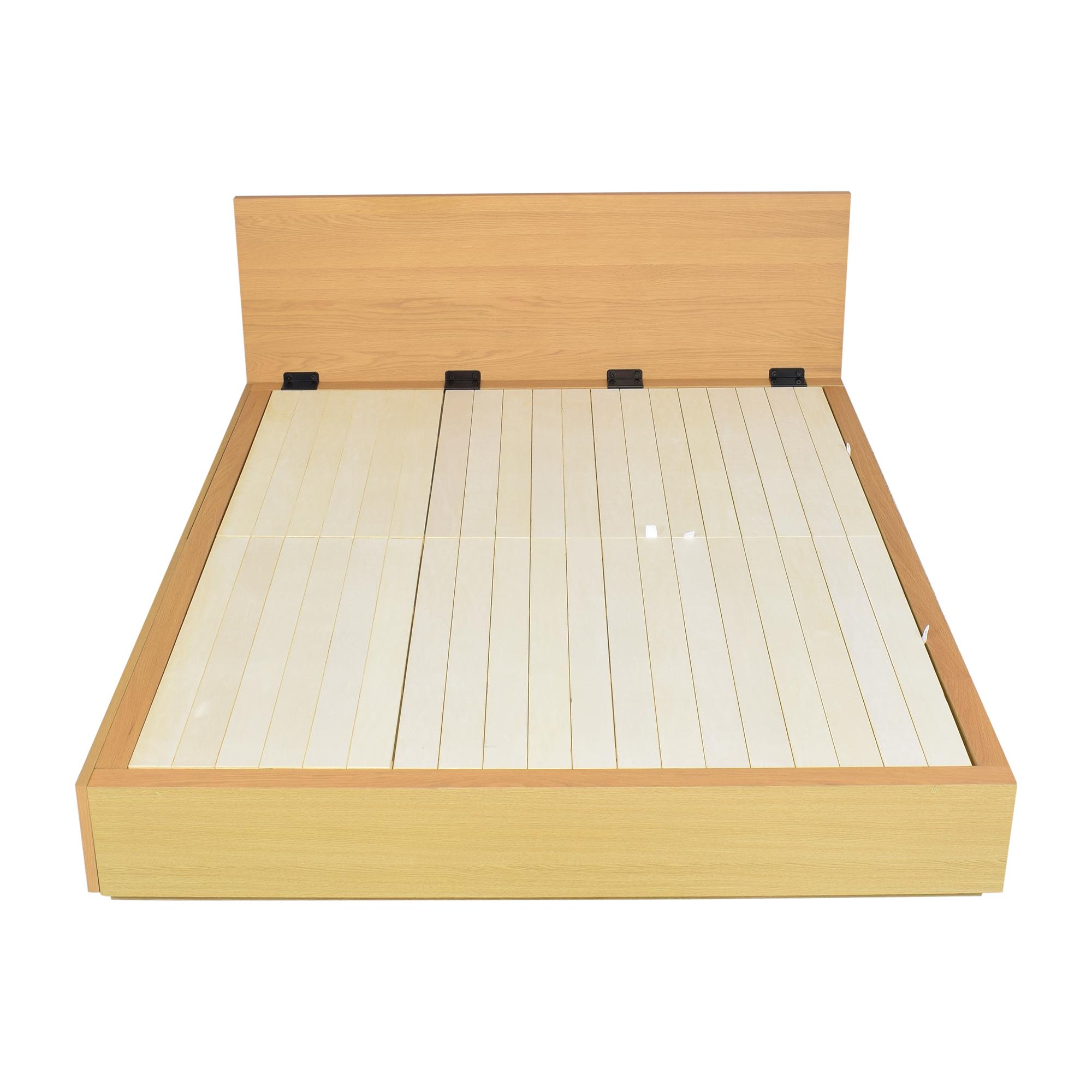 Muji Muji Queen Storage Bed on sale