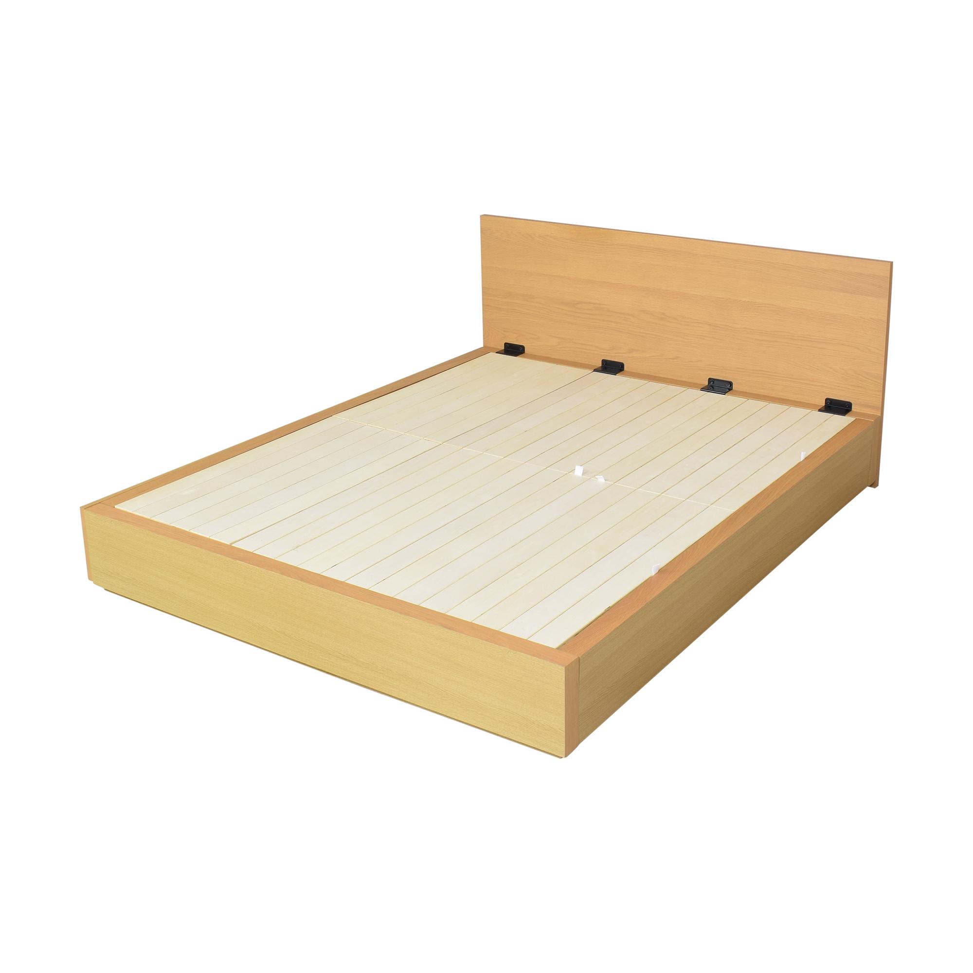 Muji Muji Queen Storage Bed for sale