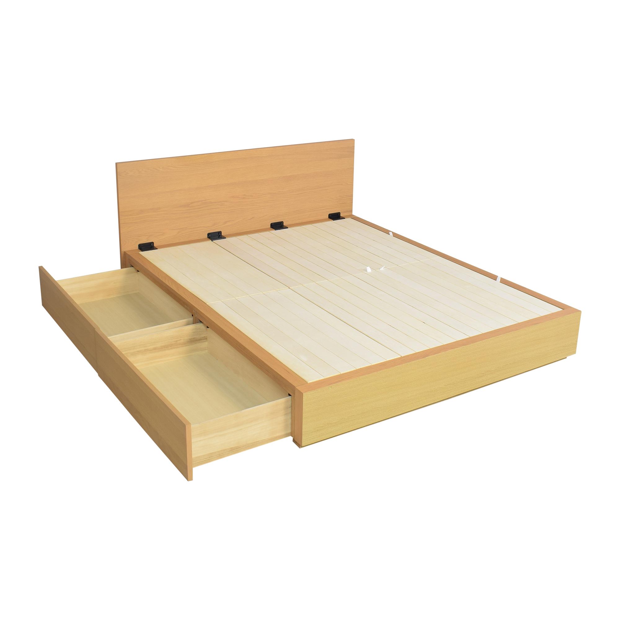 Muji Muji Queen Storage Bed