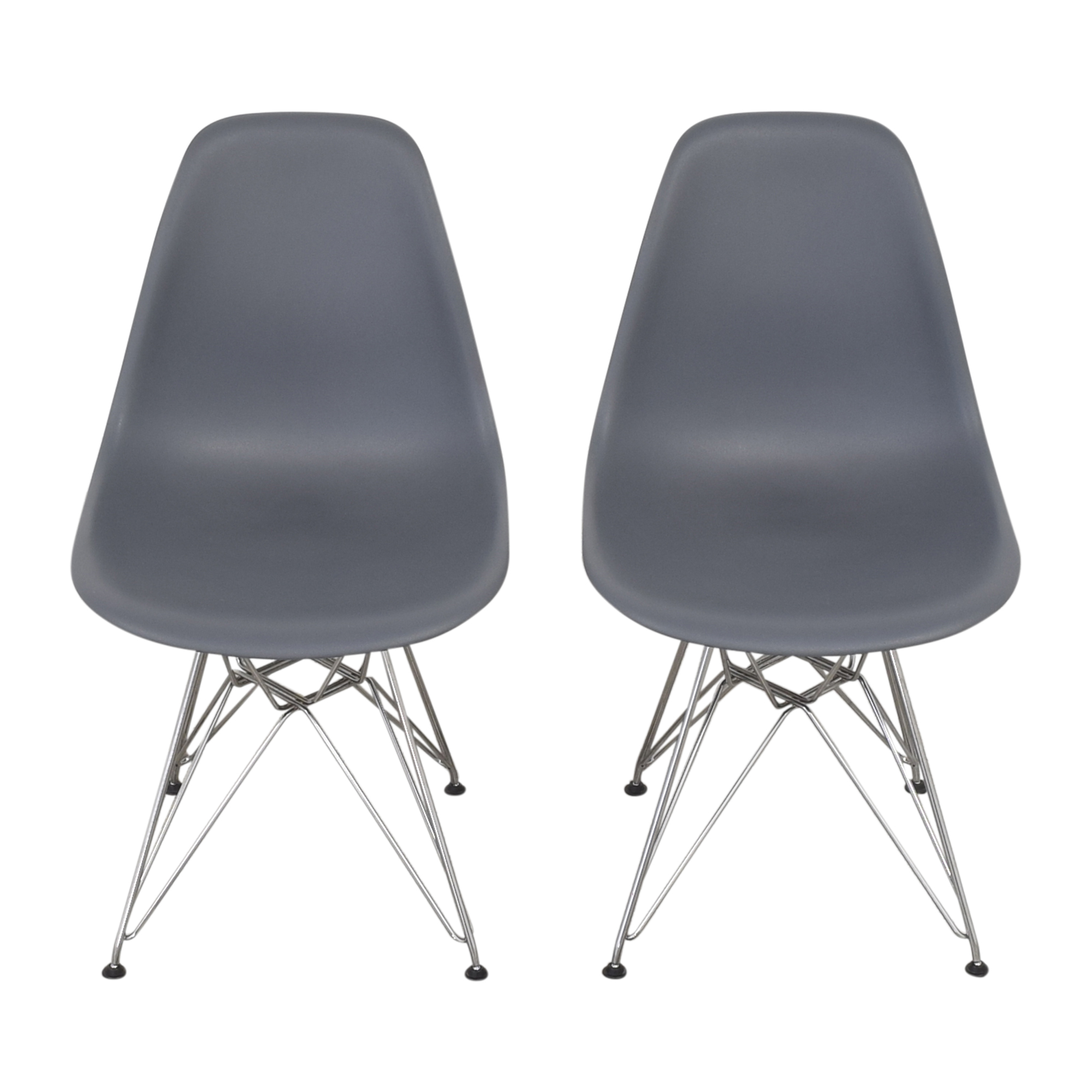 buy Design Within Reach Herman Miller Eames Molded Side Chairs Design Within Reach