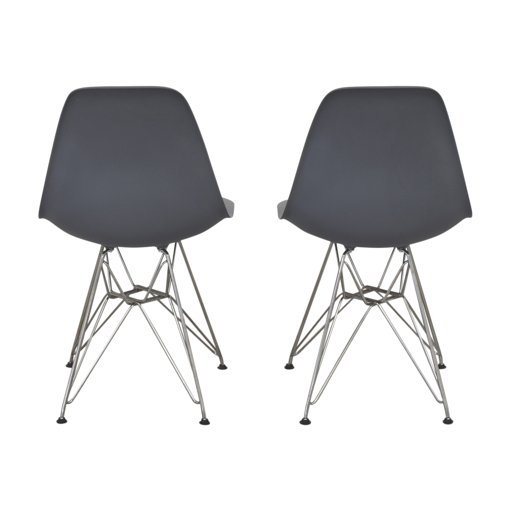 shop Design Within Reach Herman Miller Eames Molded Side Chairs Design Within Reach