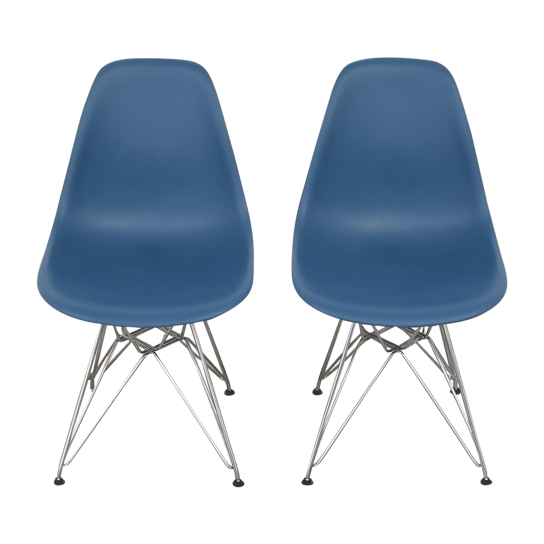 buy Design Within Reach Herman Miller Eames Molded Side Chairs Design Within Reach Chairs