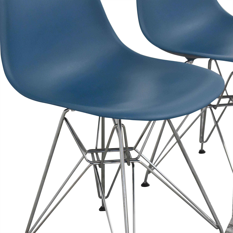 shop Design Within Reach Herman Miller Eames Molded Side Chairs Design Within Reach Chairs