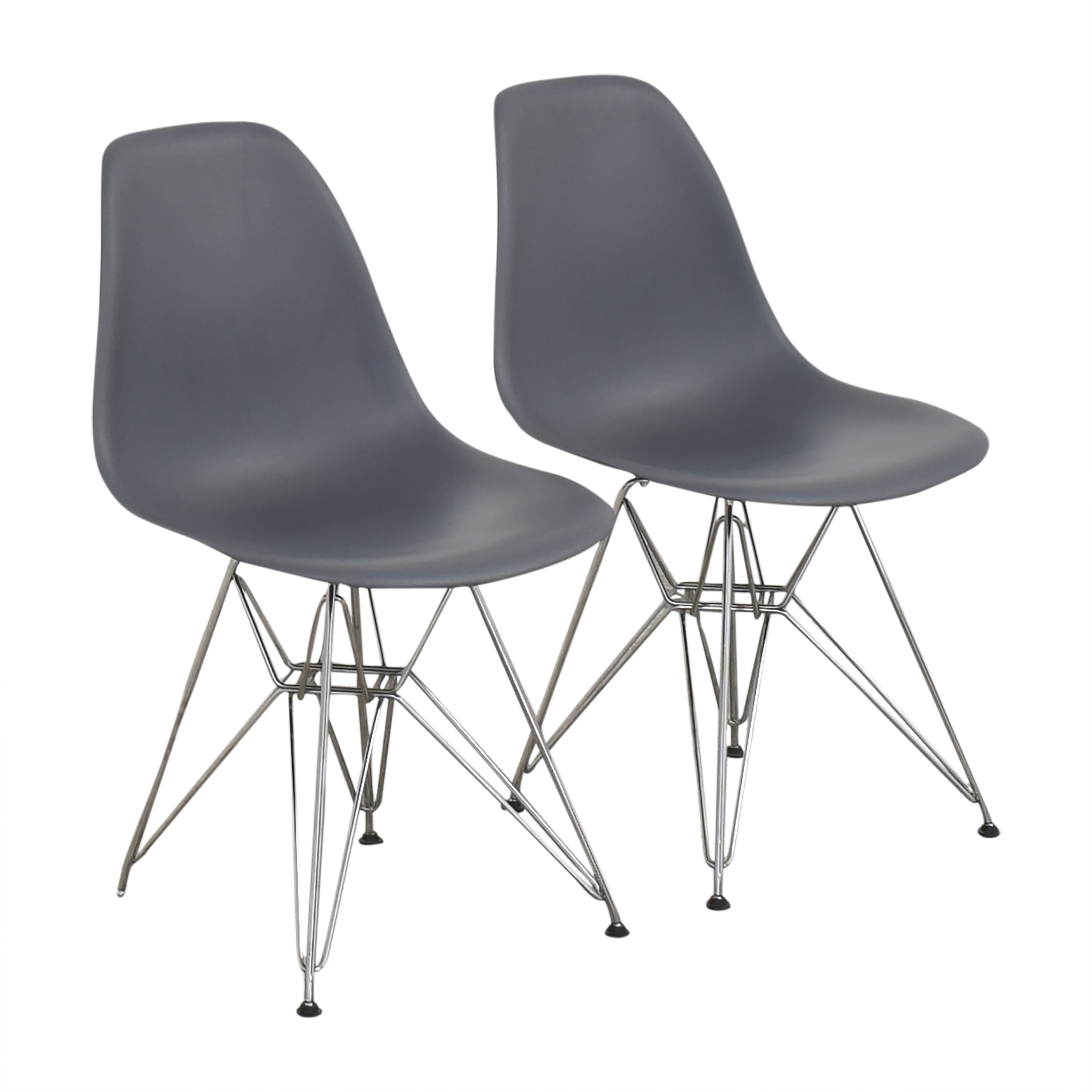 buy Design Within Reach Herman Miller Eames Molded Side Chairs Design Within Reach Accent Chairs
