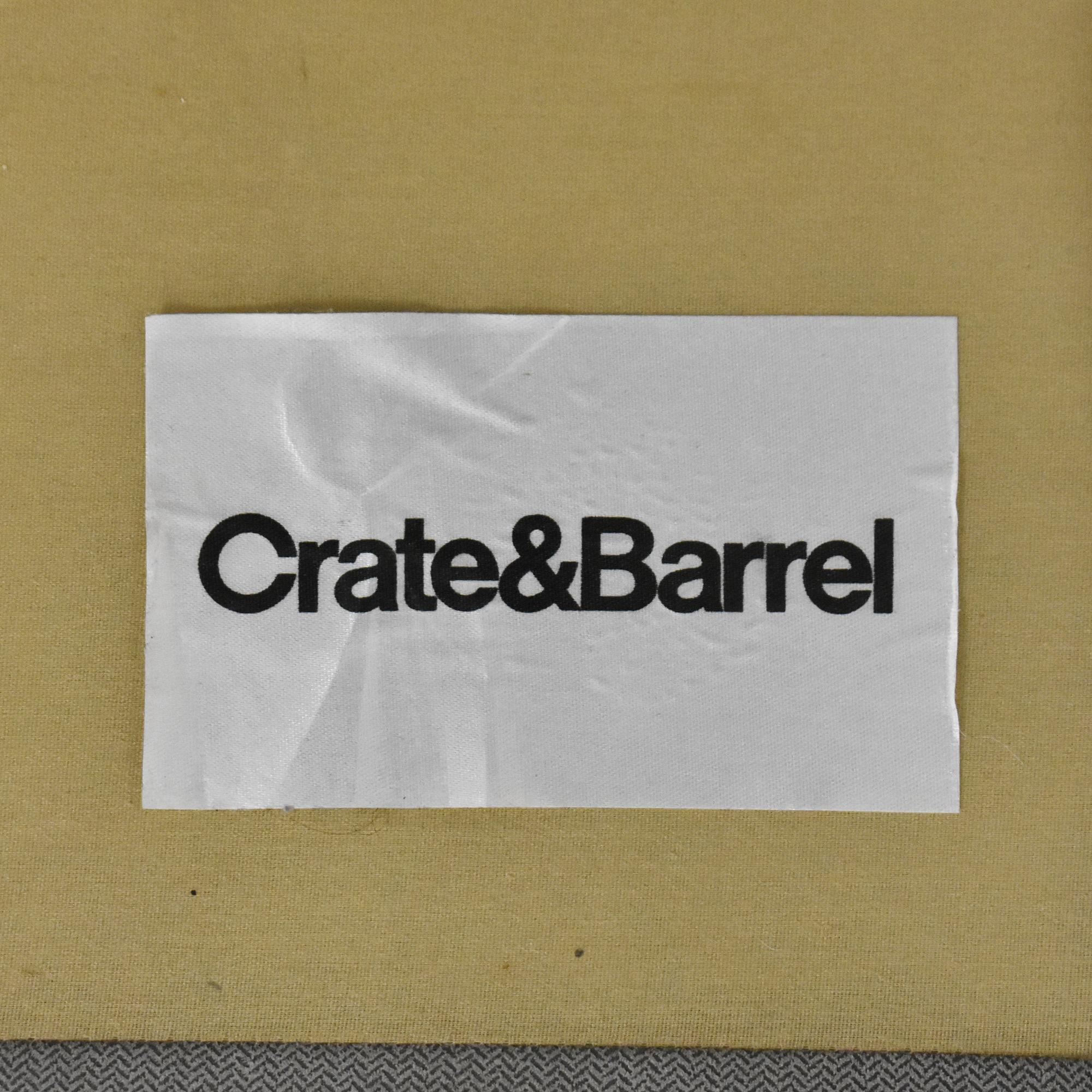 Crate & Barrel Crate & Barrel Axis II Two Piece Sectional Sofa nj