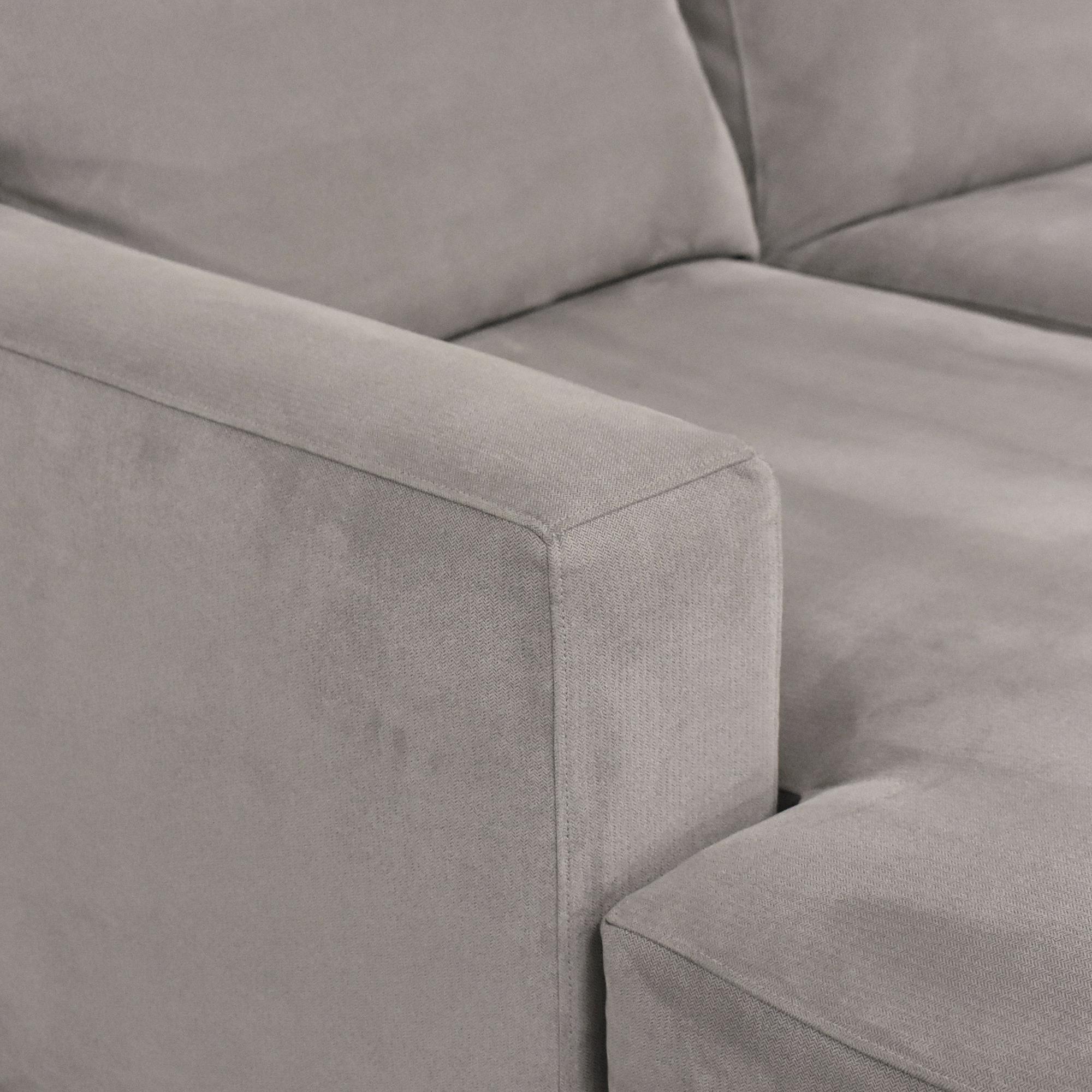 shop Crate & Barrel Crate & Barrel Axis II Two Piece Sectional Sofa online
