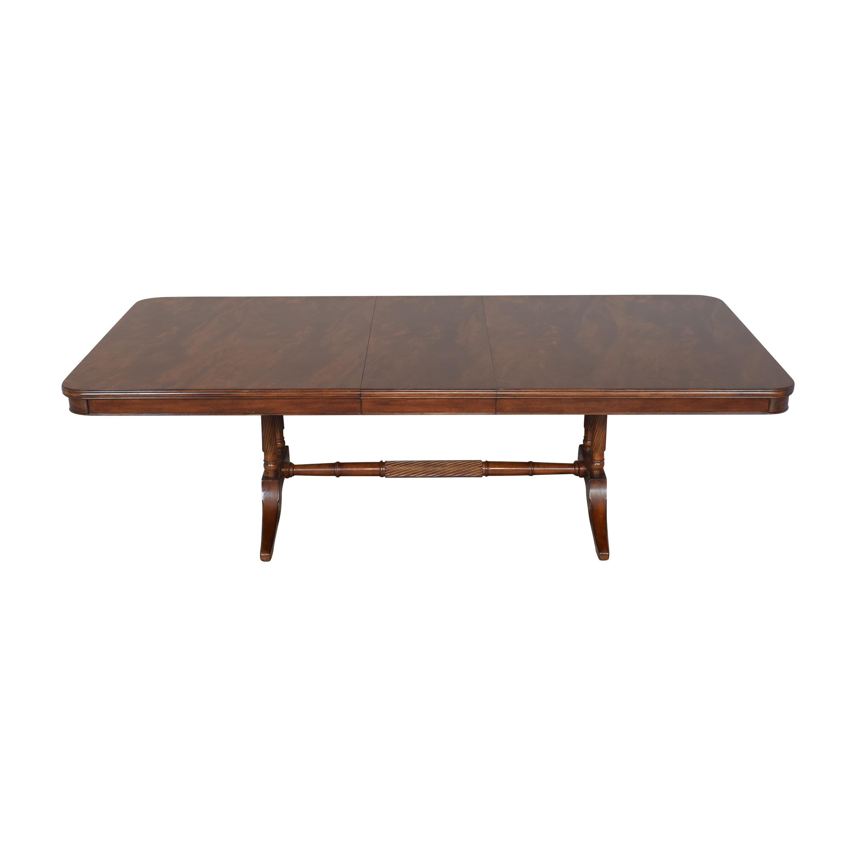 Bernhardt Bernhardt Extendable Trestle Dining Table price