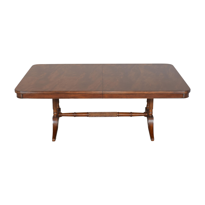 Bernhardt Bernhardt Extendable Trestle Dining Table nyc