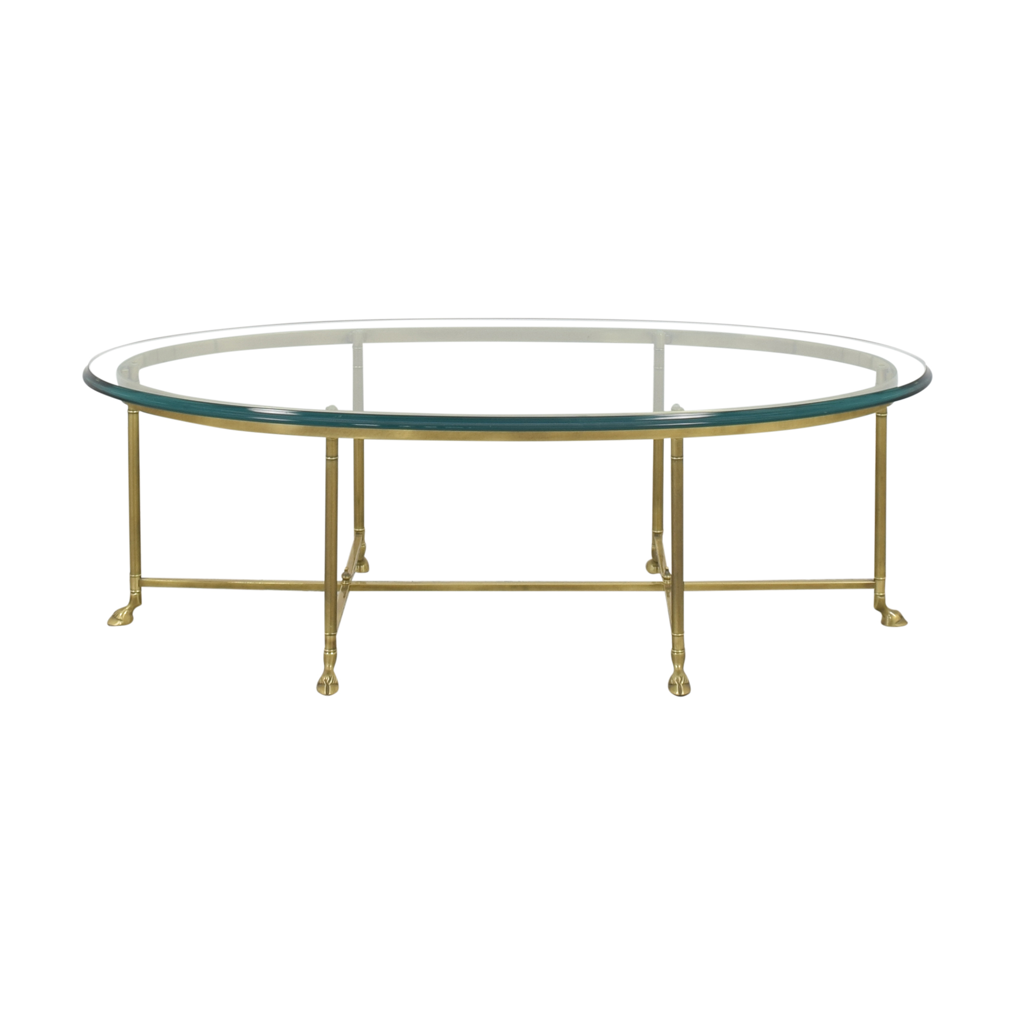 Stickley Furniture Stickley Furniture Oval Cocktail Table ct